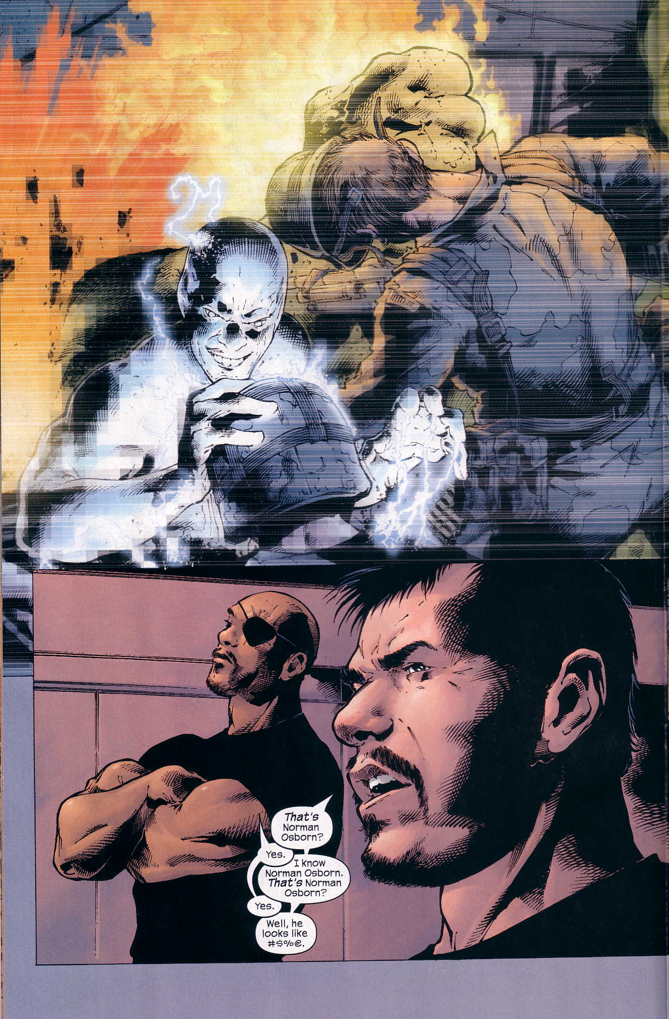 Read online Ultimate Six comic -  Issue #3 - 11