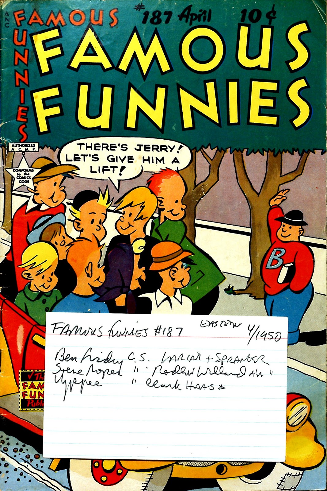 Read online Famous Funnies comic -  Issue #187 - 53