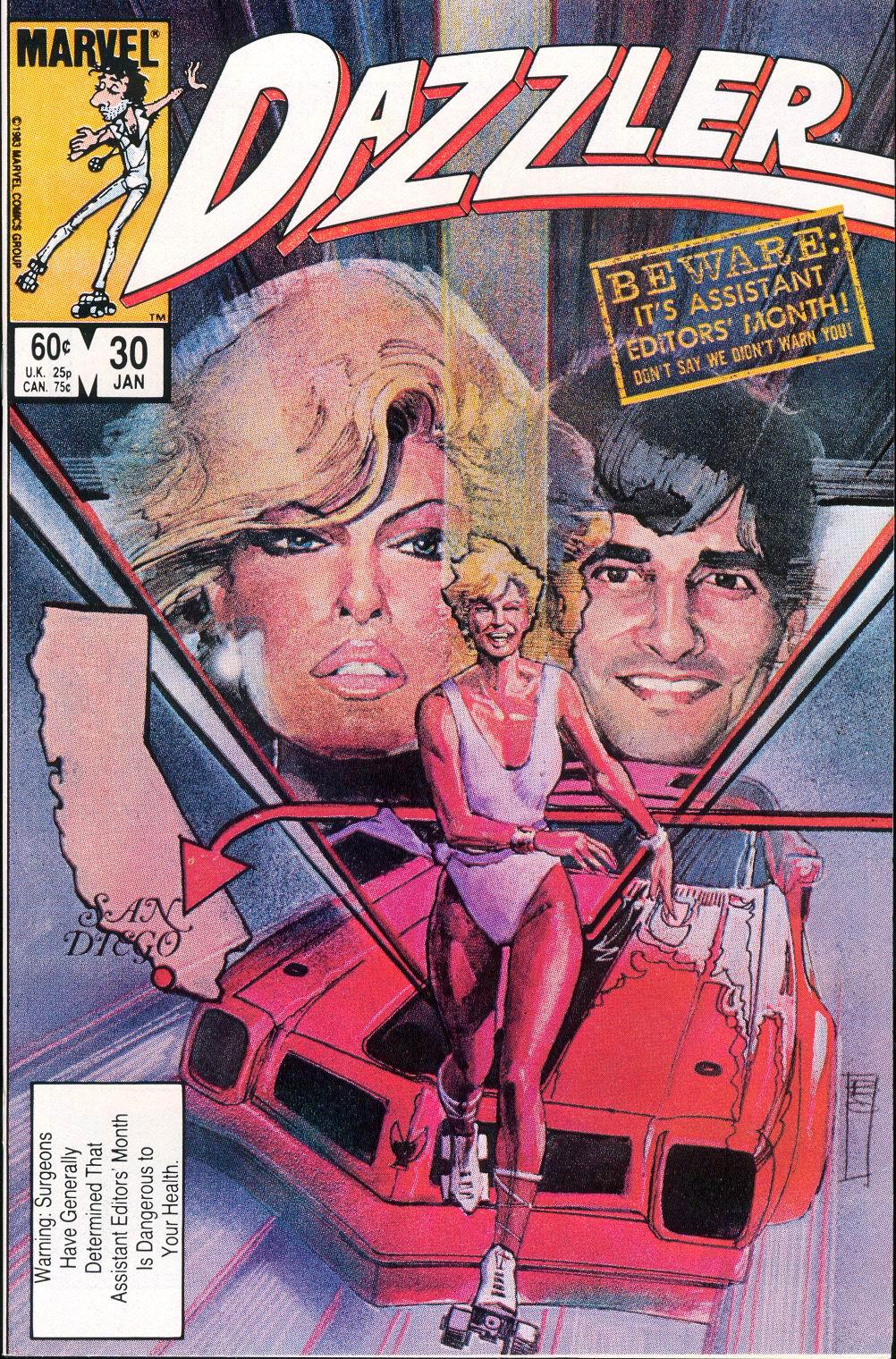 Dazzler (1981) 30 Page 1