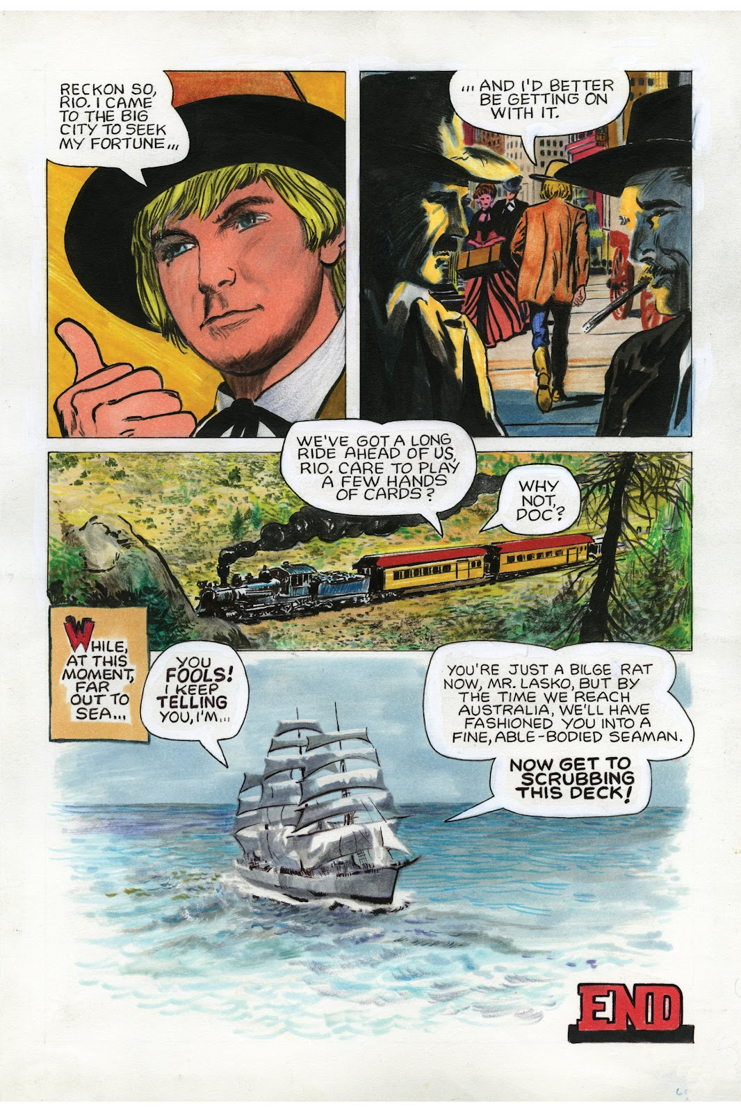 Read online Doug Wildey's Rio: The Complete Saga comic -  Issue # TPB (Part 2) - 87
