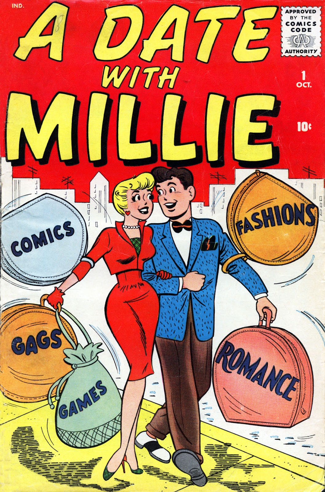 A Date with Millie (1959) issue 1 - Page 1