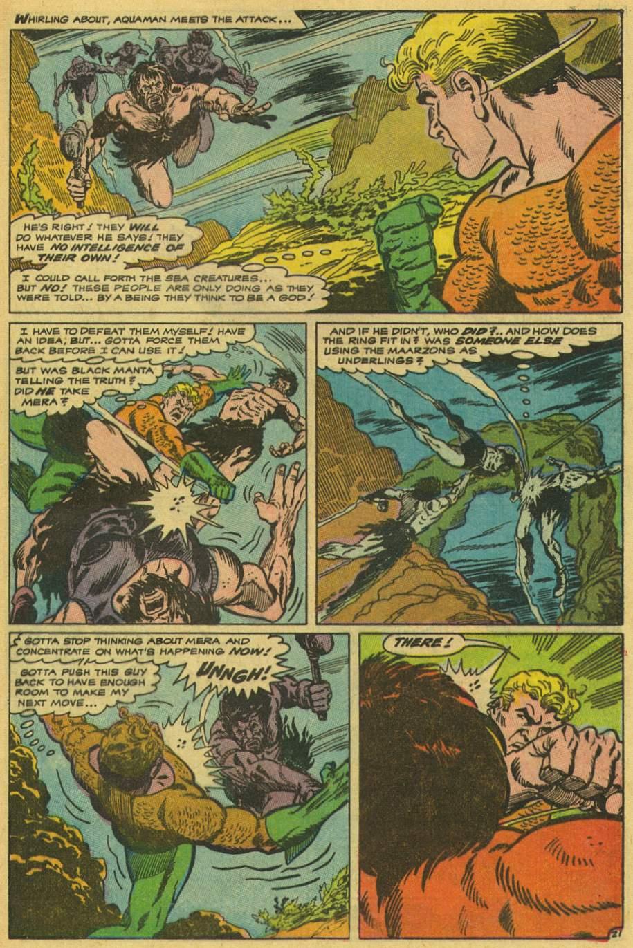Read online Aquaman (1962) comic -  Issue #42 - 29
