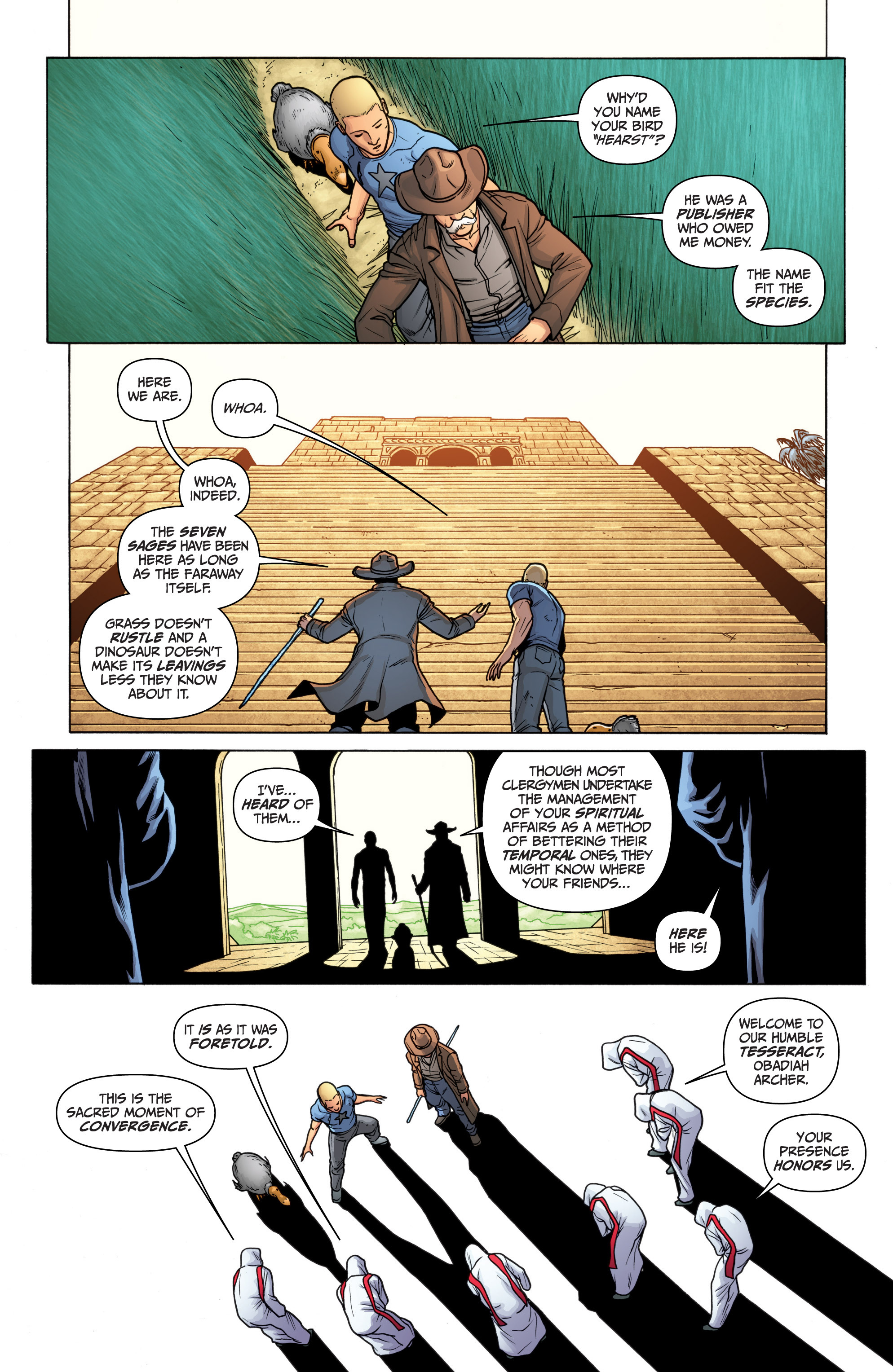 Read online Archer and Armstrong comic -  Issue #11 - 24