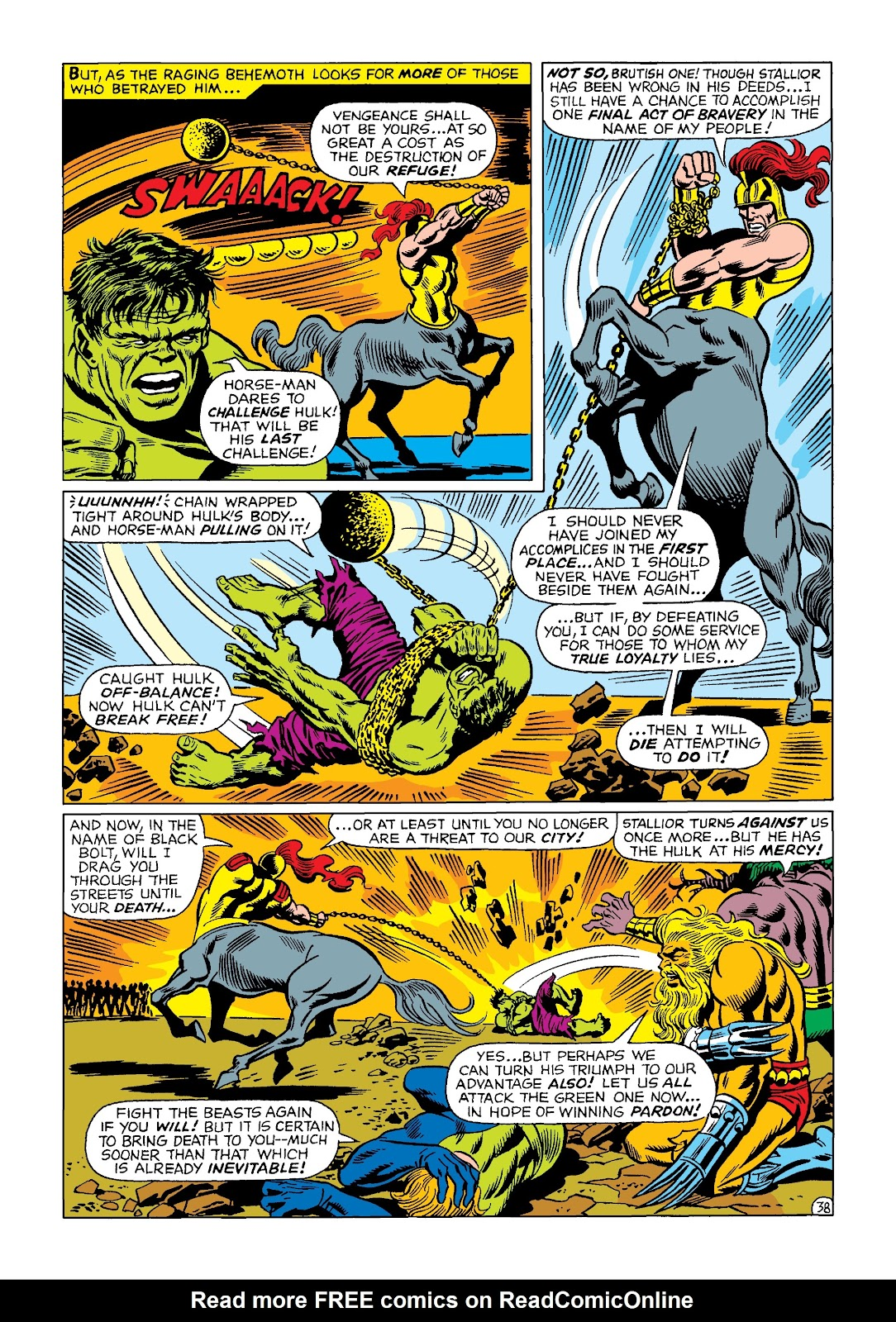 Read online Marvel Masterworks: The Incredible Hulk comic -  Issue # TPB 4 (Part 2) - 71