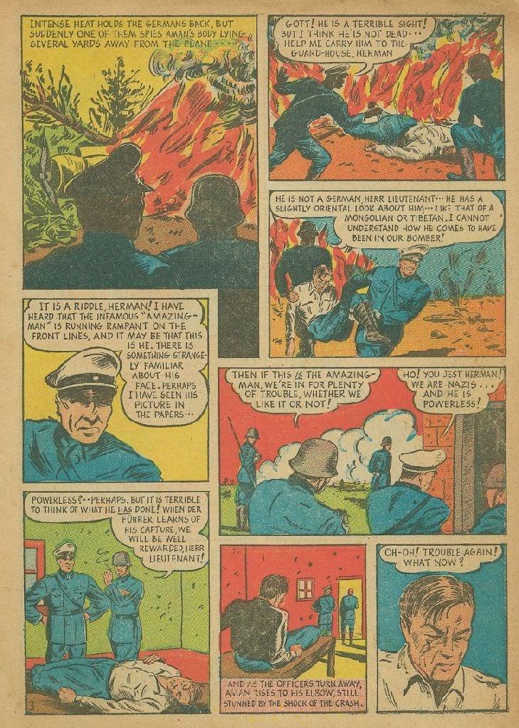 Read online Amazing Man Comics comic -  Issue #9 - 6