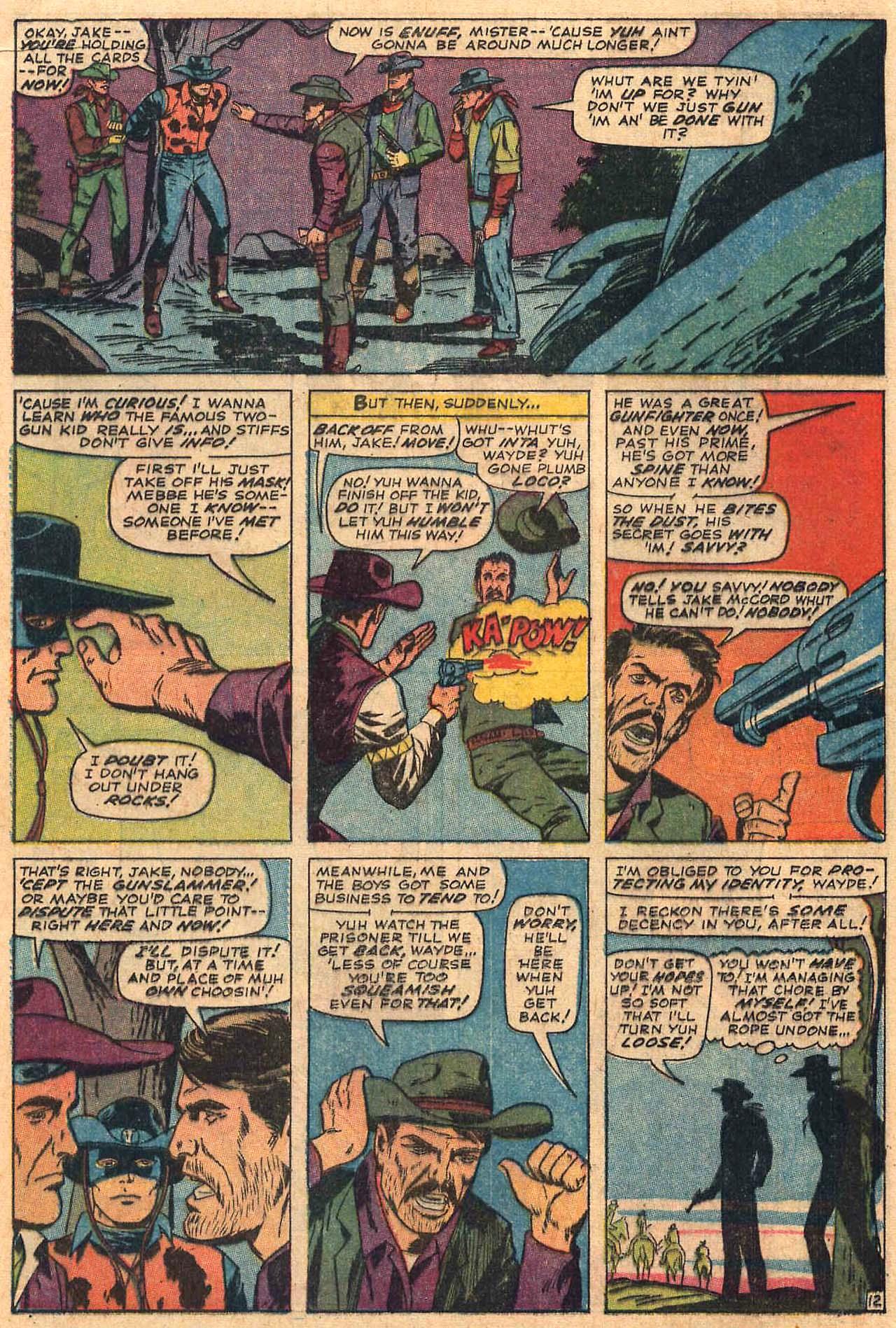Read online Two-Gun Kid comic -  Issue #84 - 16