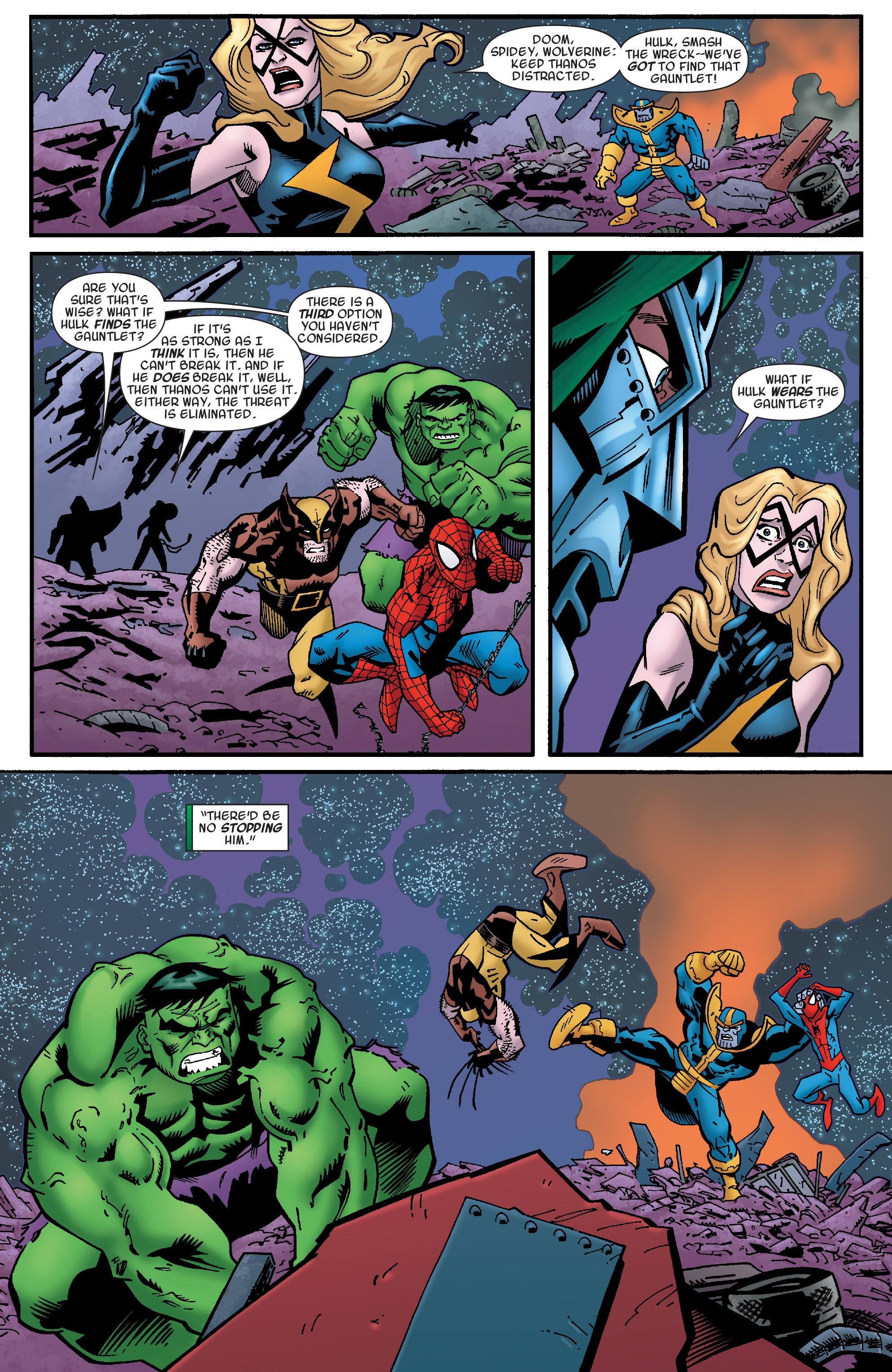 Read online Avengers & the Infinity Gauntlet comic -  Issue #4 - 8