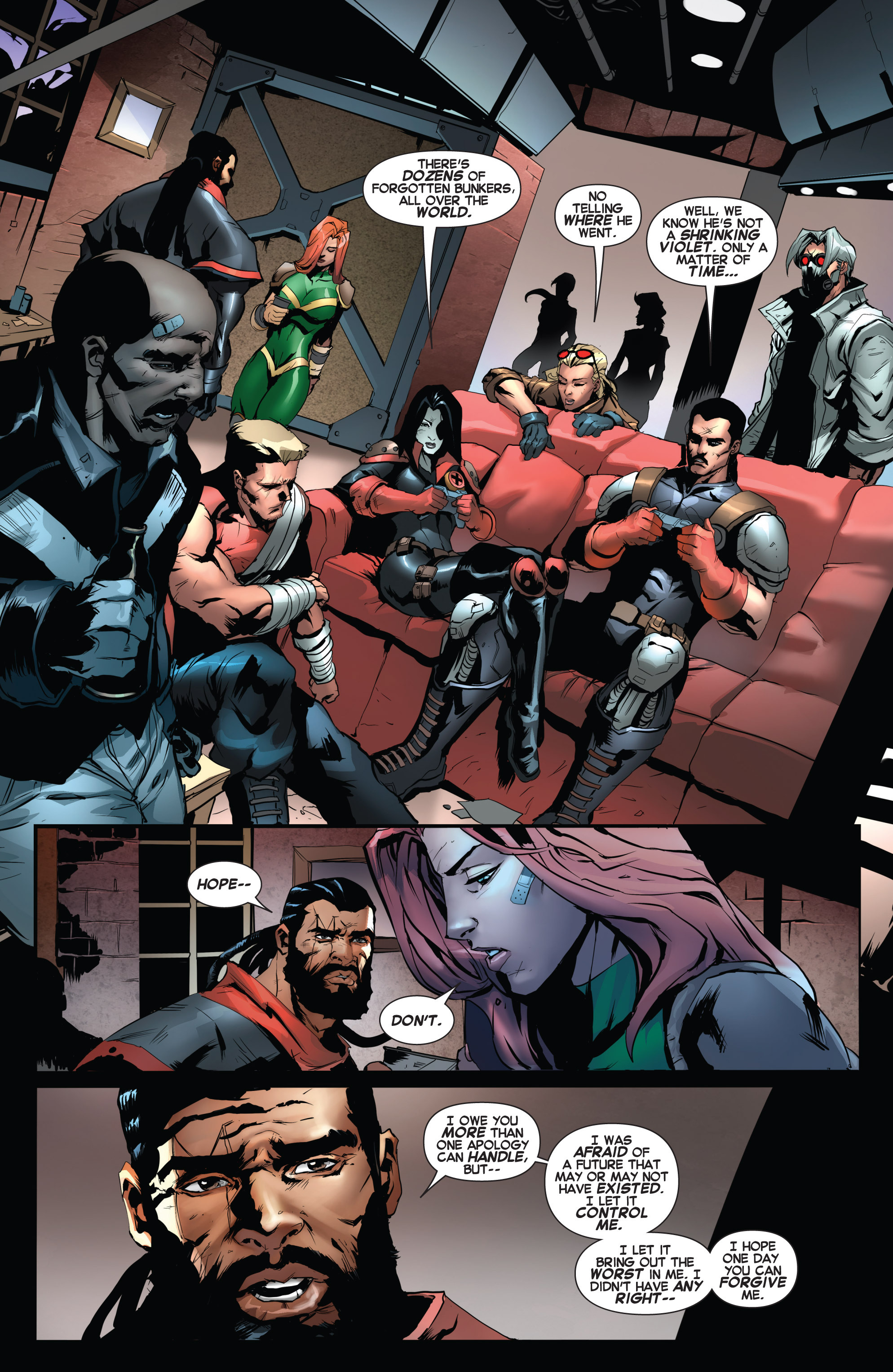 Read online Uncanny X-Force (2013) comic -  Issue #17 - 20