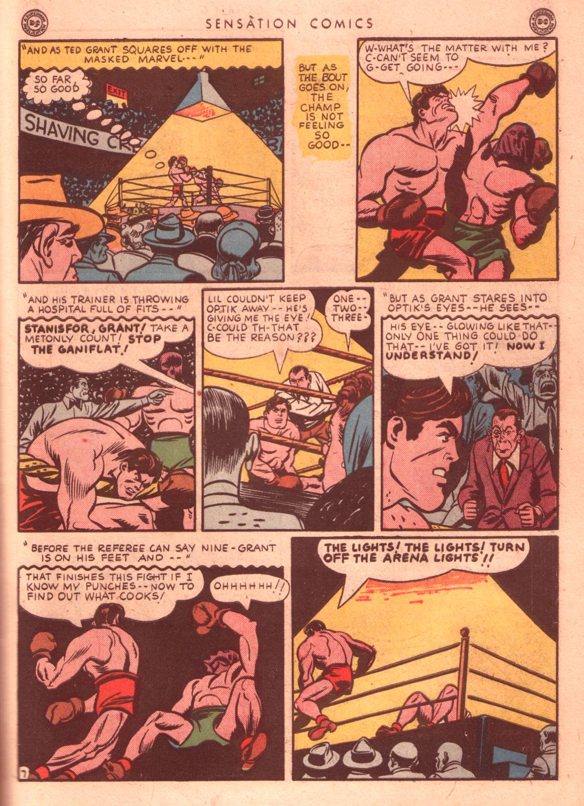 Read online Sensation (Mystery) Comics comic -  Issue #35 - 47