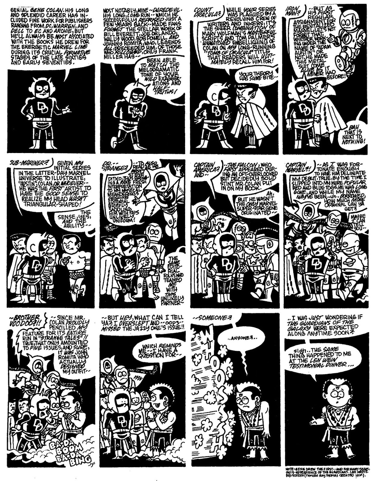 Read online The Nearly Complete Essential Hembeck Archives Omnibus comic -  Issue # TPB (Part 6) - 97