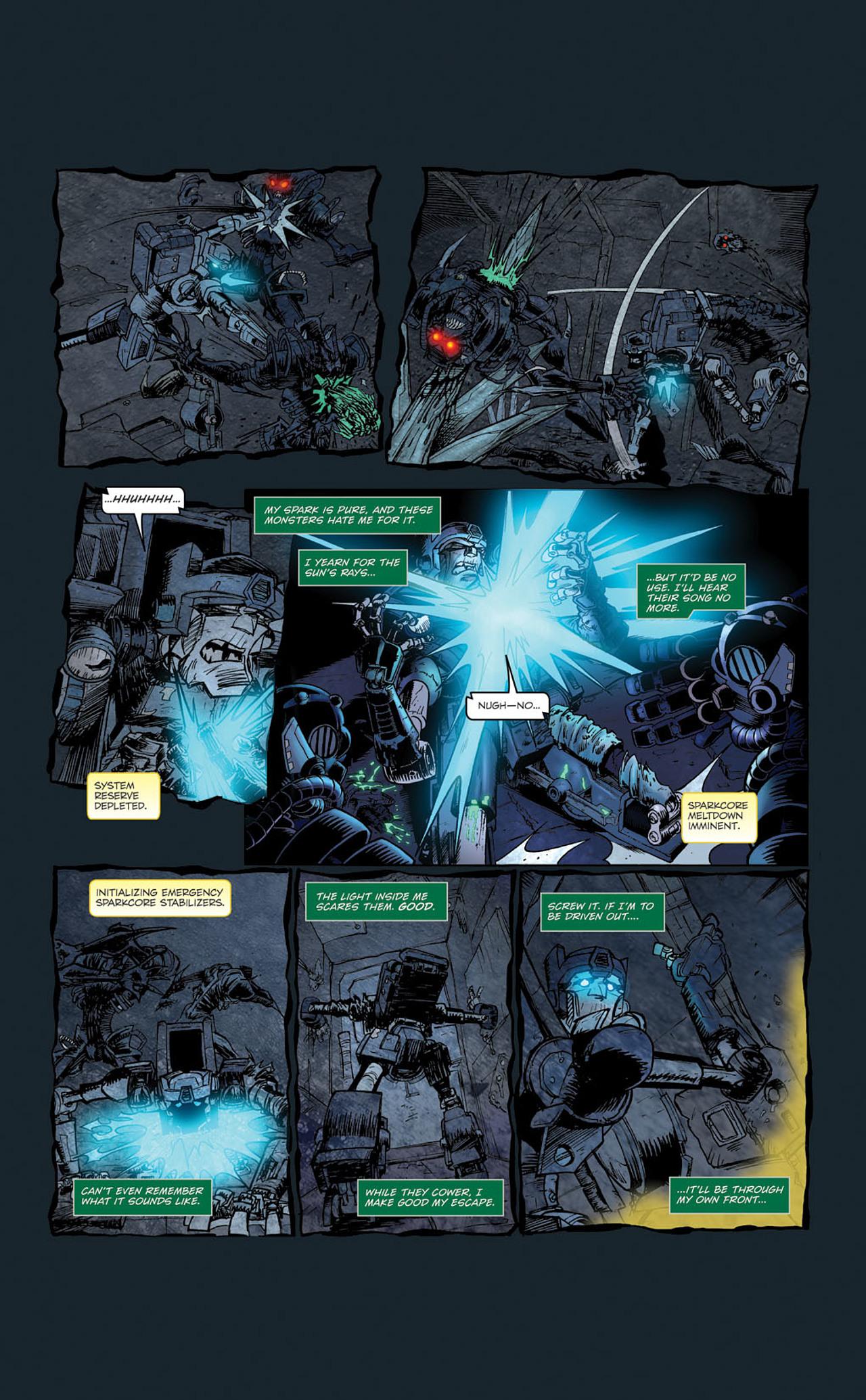 Read online Transformers Spotlight: Kup comic -  Issue # Full - 24