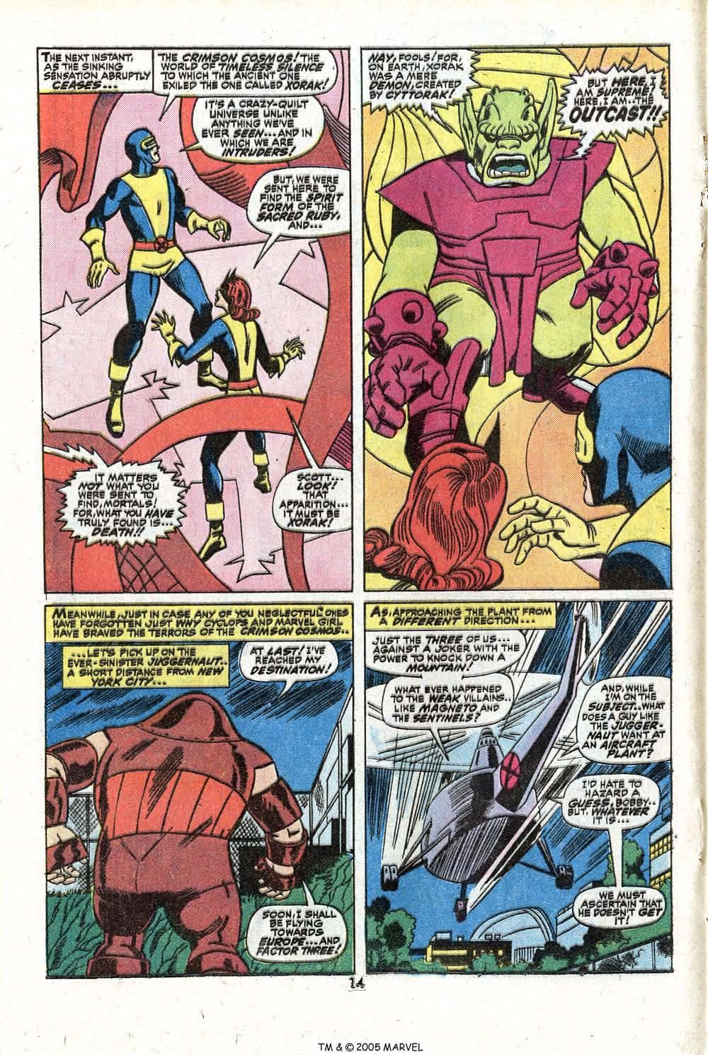 Read online Uncanny X-Men (1963) comic -  Issue #81 - 16