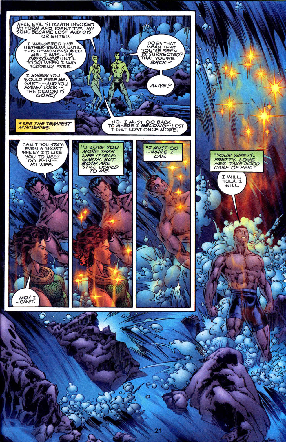 Read online Aquaman (1994) comic -  Issue #61 - 22