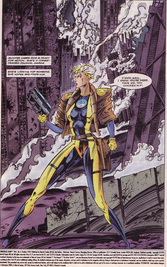 Read online Cyberspace 3000 comic -  Issue #4 - 2