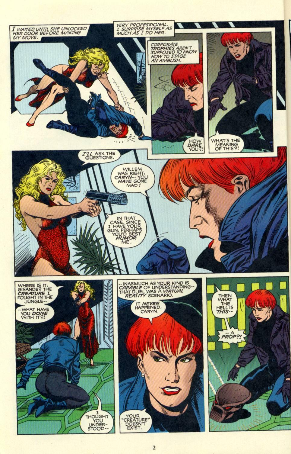 Read online Aliens/Predator: The Deadliest of the Species comic -  Issue #4 - 3