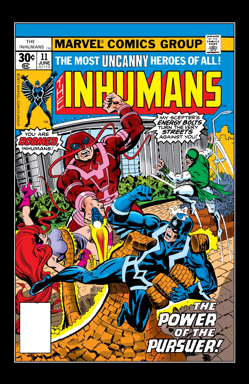 Read online Marvel Masterworks: The Inhumans comic -  Issue # TPB 2 (Part 2) - 74