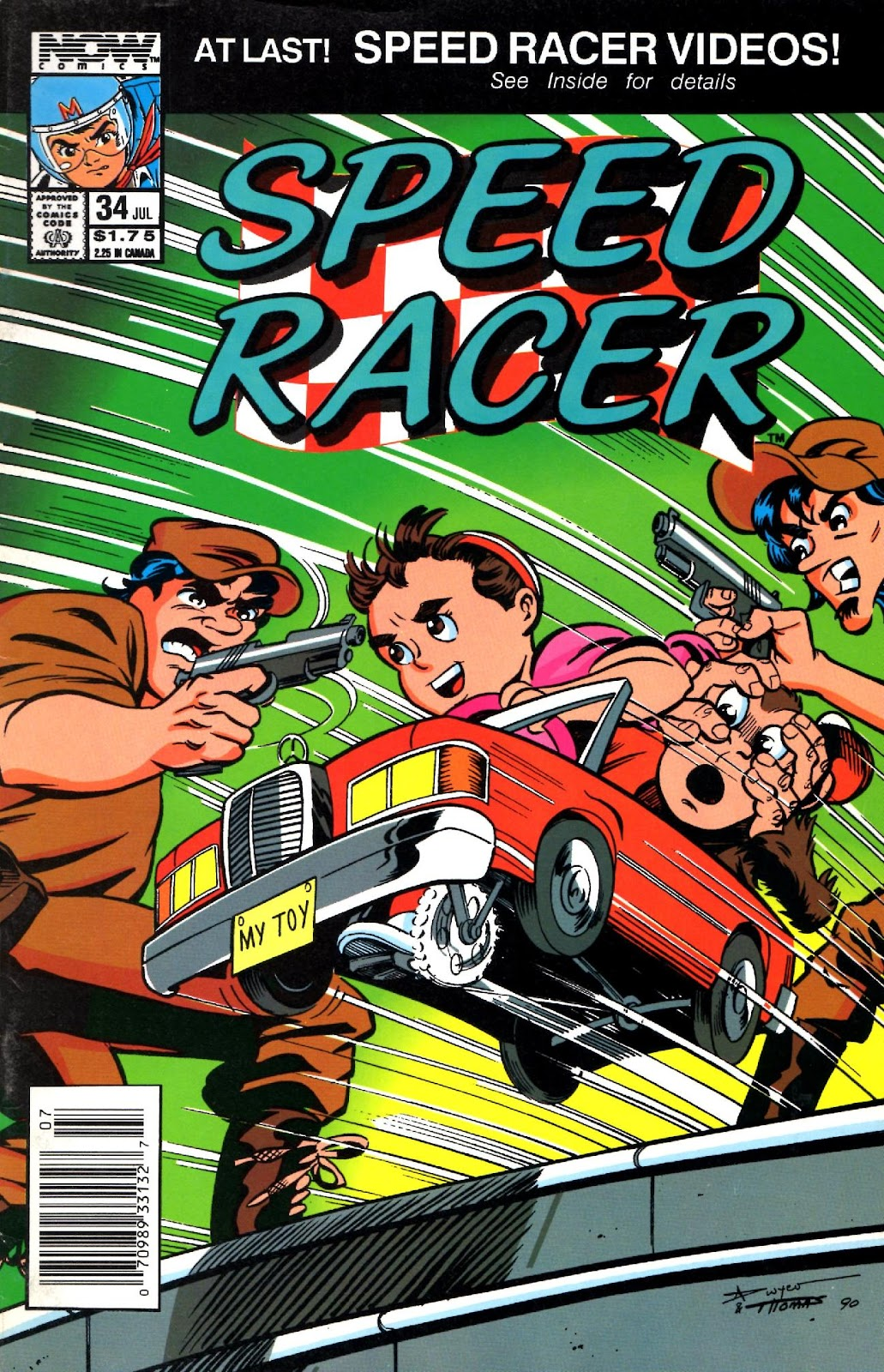 Speed Racer (1987) issue 34 - Page 1