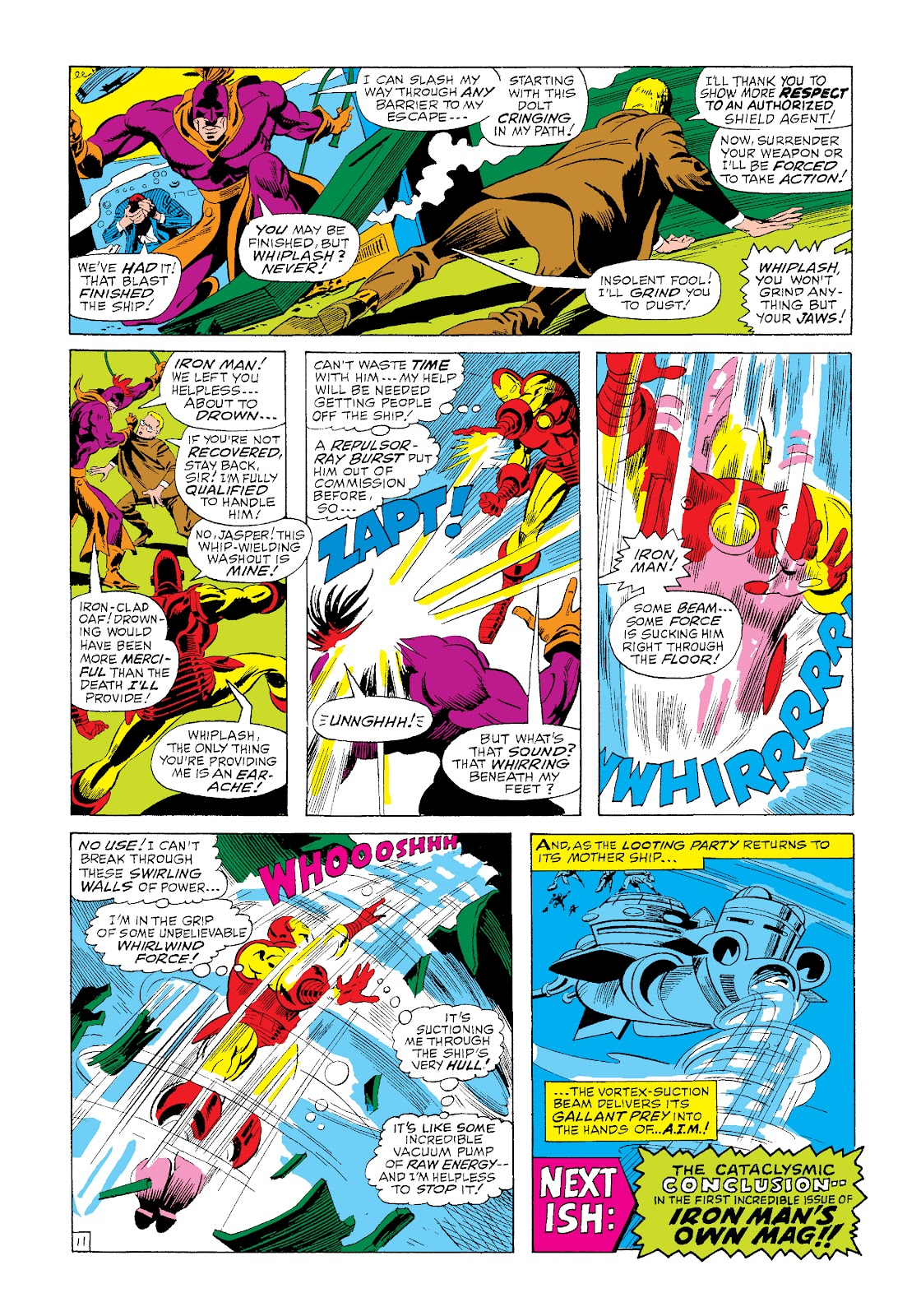 Read online Marvel Masterworks: The Invincible Iron Man comic -  Issue # TPB 4 (Part 3) - 23