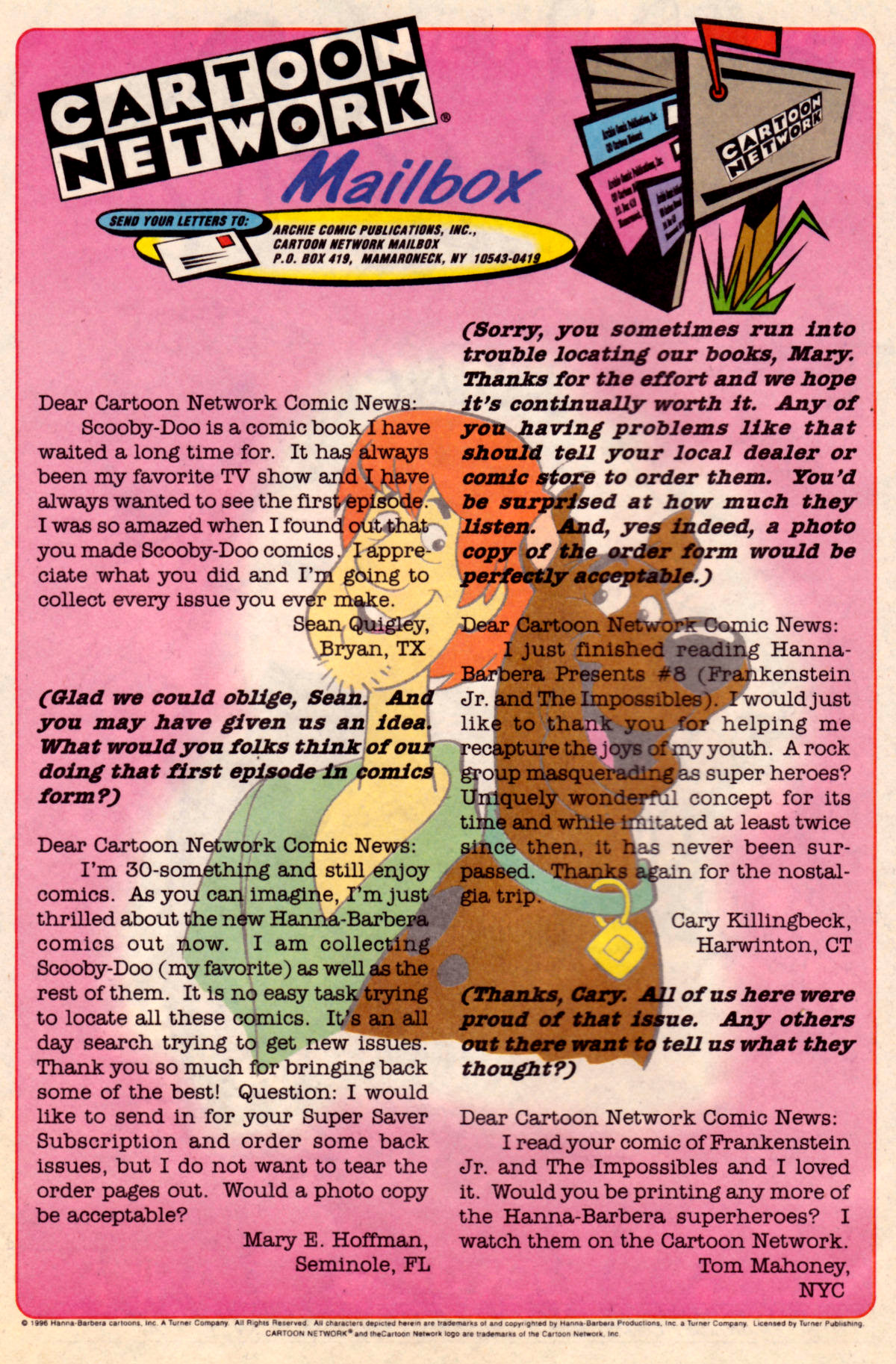 Read online Scooby-Doo (1995) comic -  Issue #18 - 16