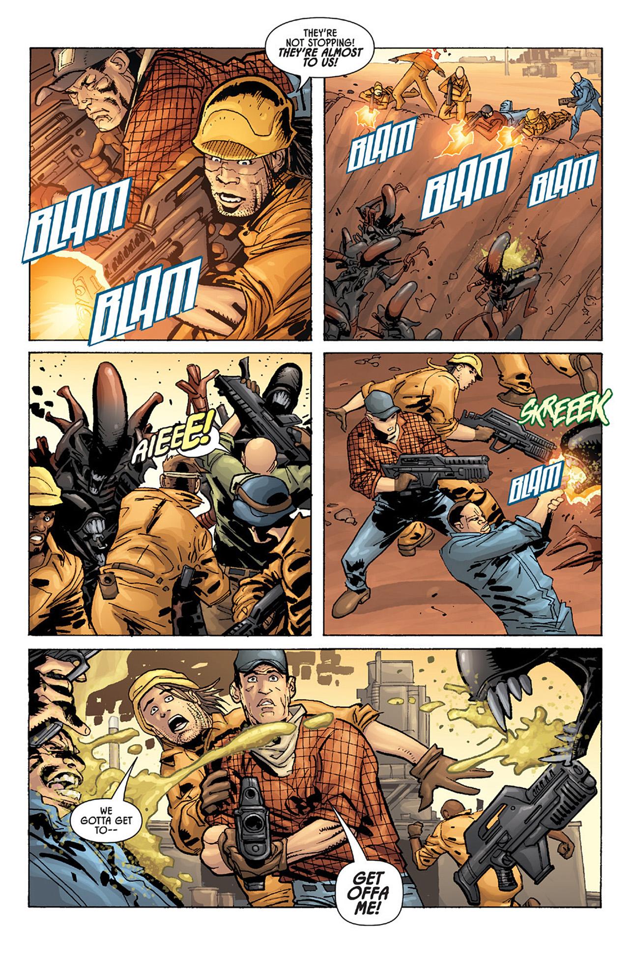 Read online Aliens vs. Predator: Three World War comic -  Issue #1 - 10