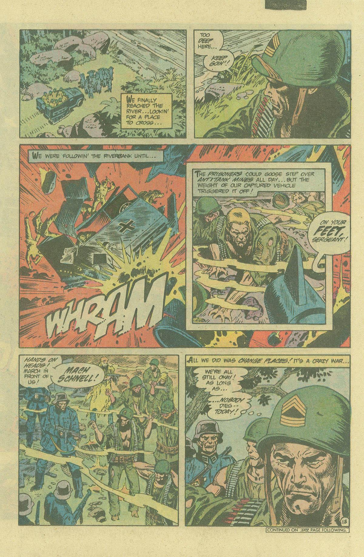 Read online Sgt. Rock comic -  Issue #394 - 16
