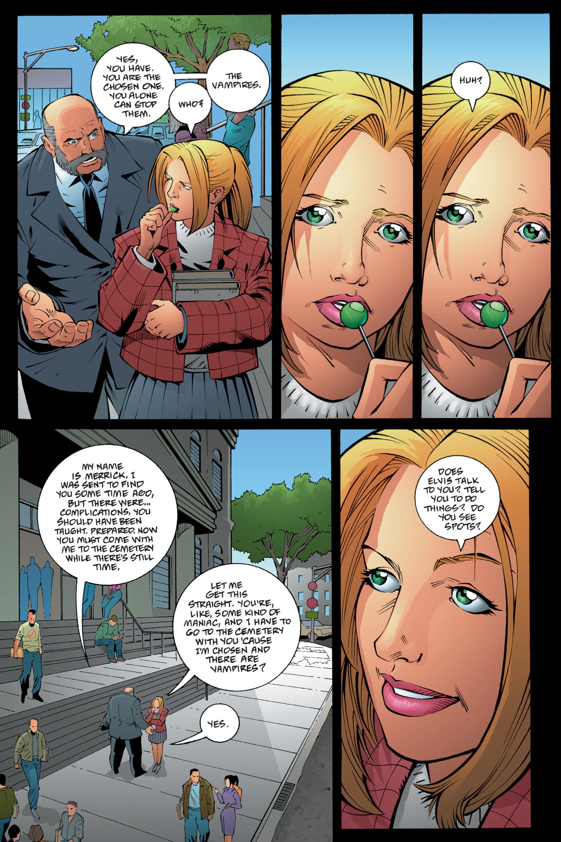 Read online Buffy the Vampire Slayer: Omnibus comic -  Issue # TPB 1 - 52