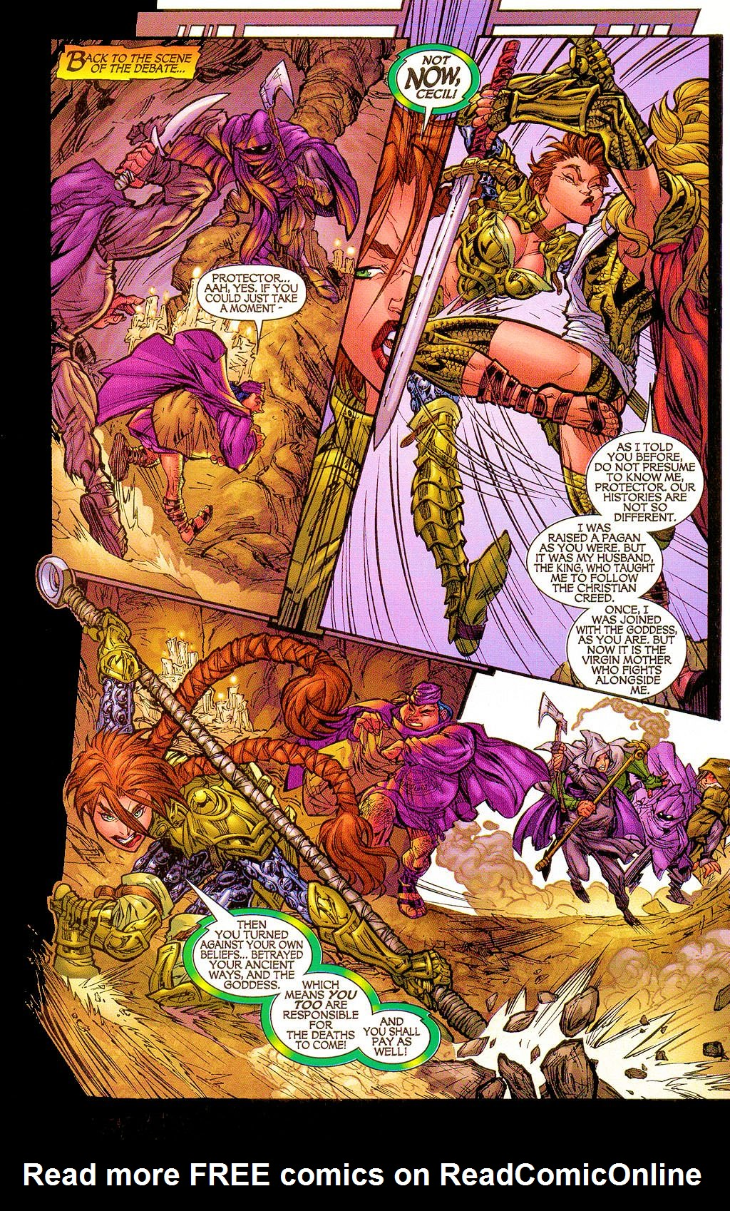 Read online Lady Pendragon / More Than Mortal comic -  Issue #1 - 15