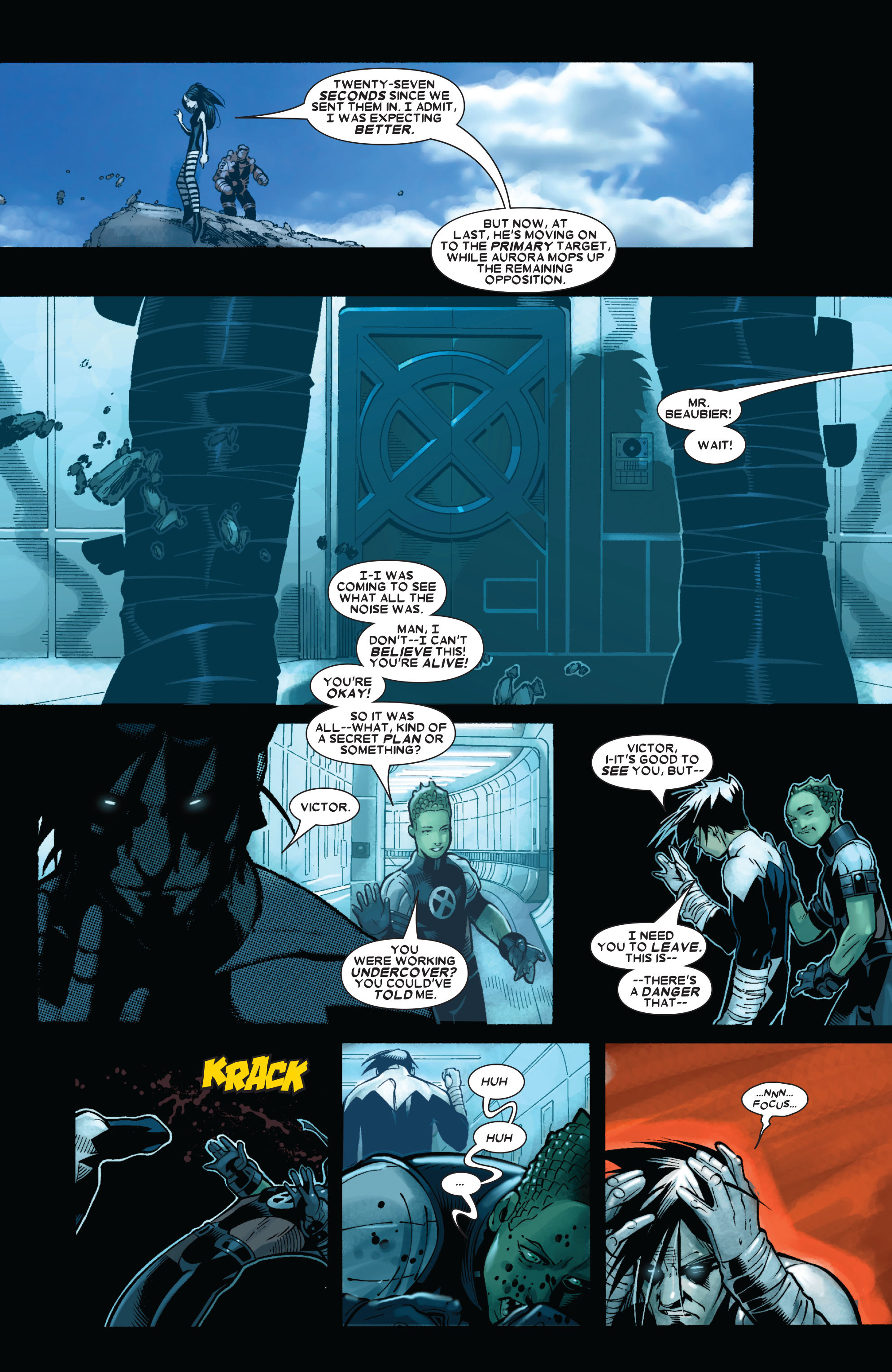 X-Men (1991) 190 Page 5