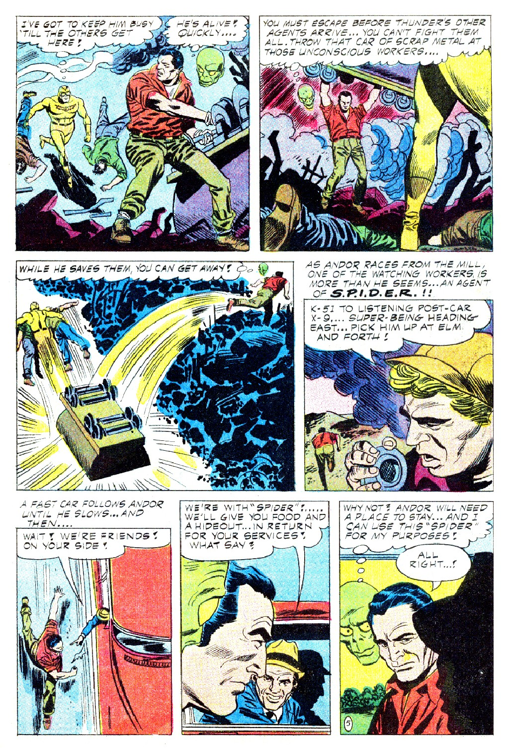 T.H.U.N.D.E.R. Agents (1965) issue 9 - Page 20