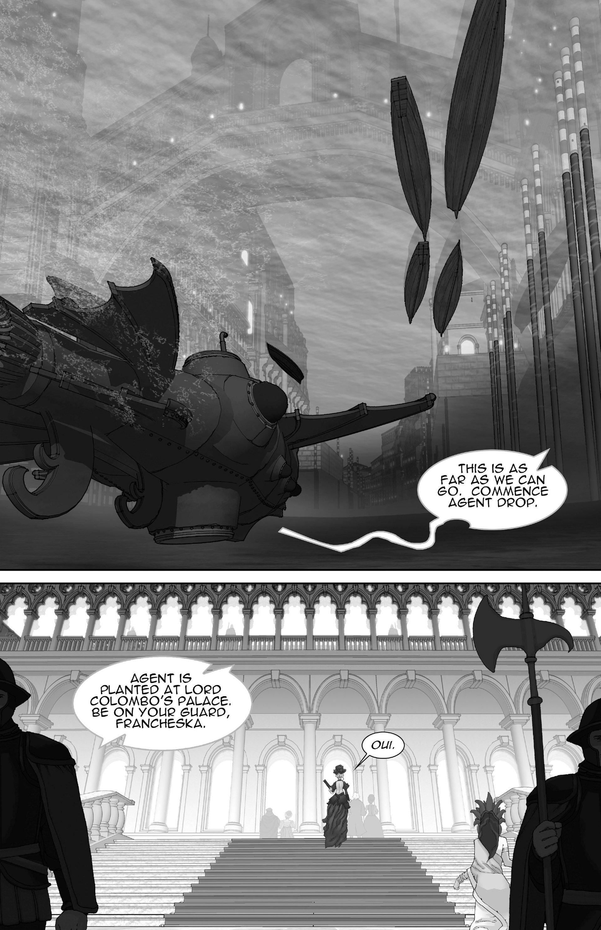 Read online Steampunk Halloween 2012 comic -  Issue # Full - 3