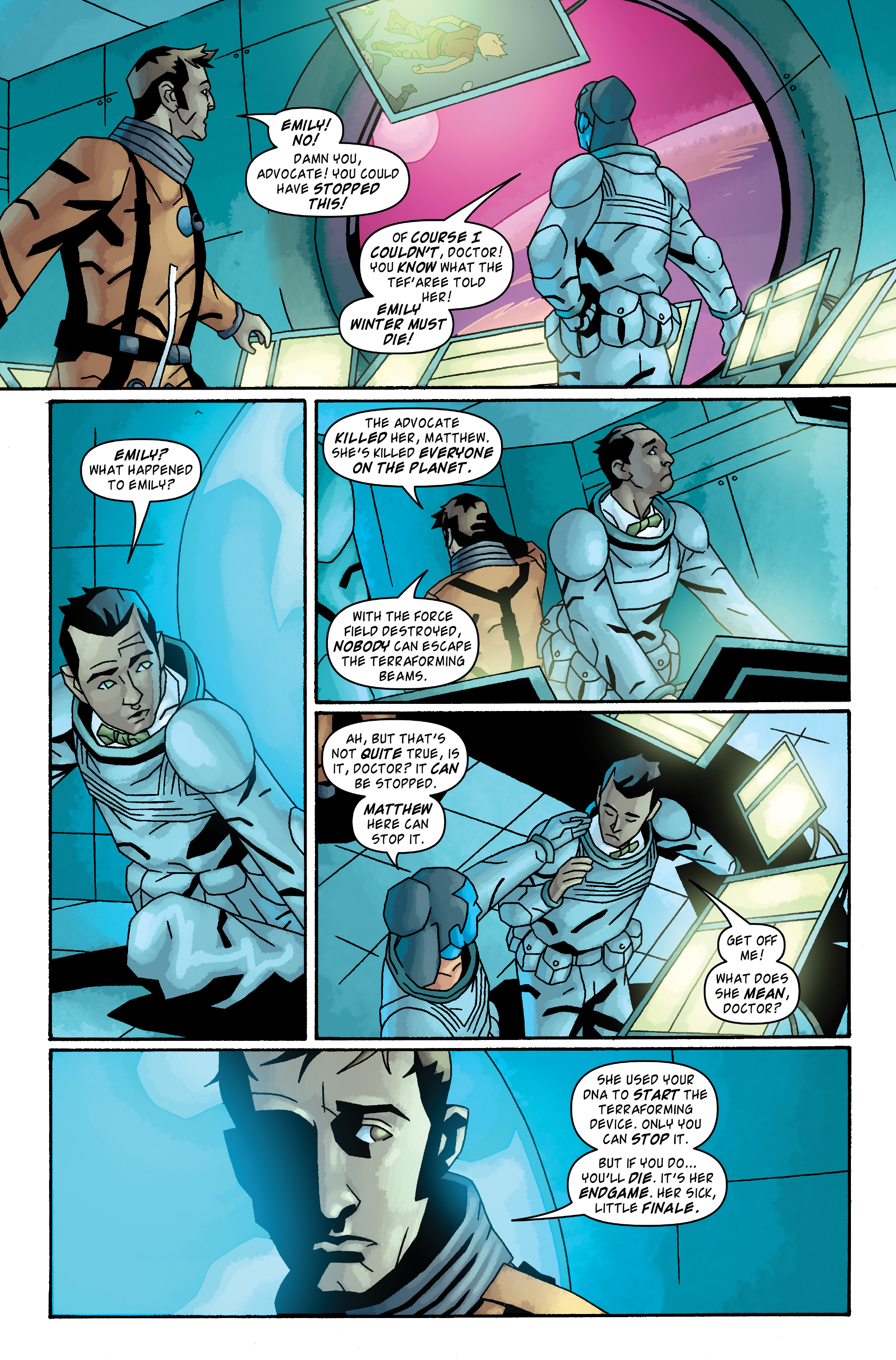 Read online Doctor Who: The Tenth Doctor Archives comic -  Issue #33 - 22