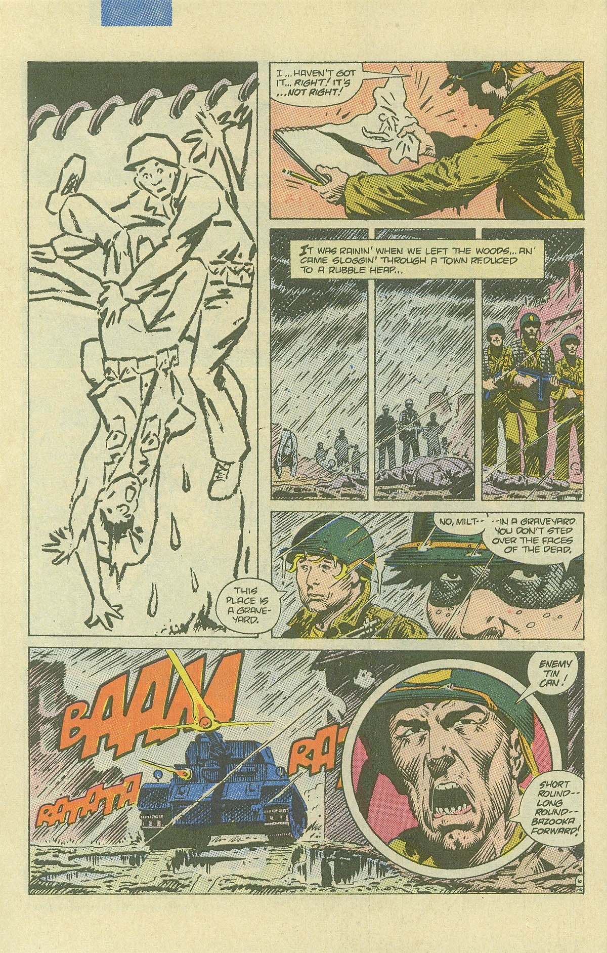 Read online Sgt. Rock comic -  Issue #408 - 9