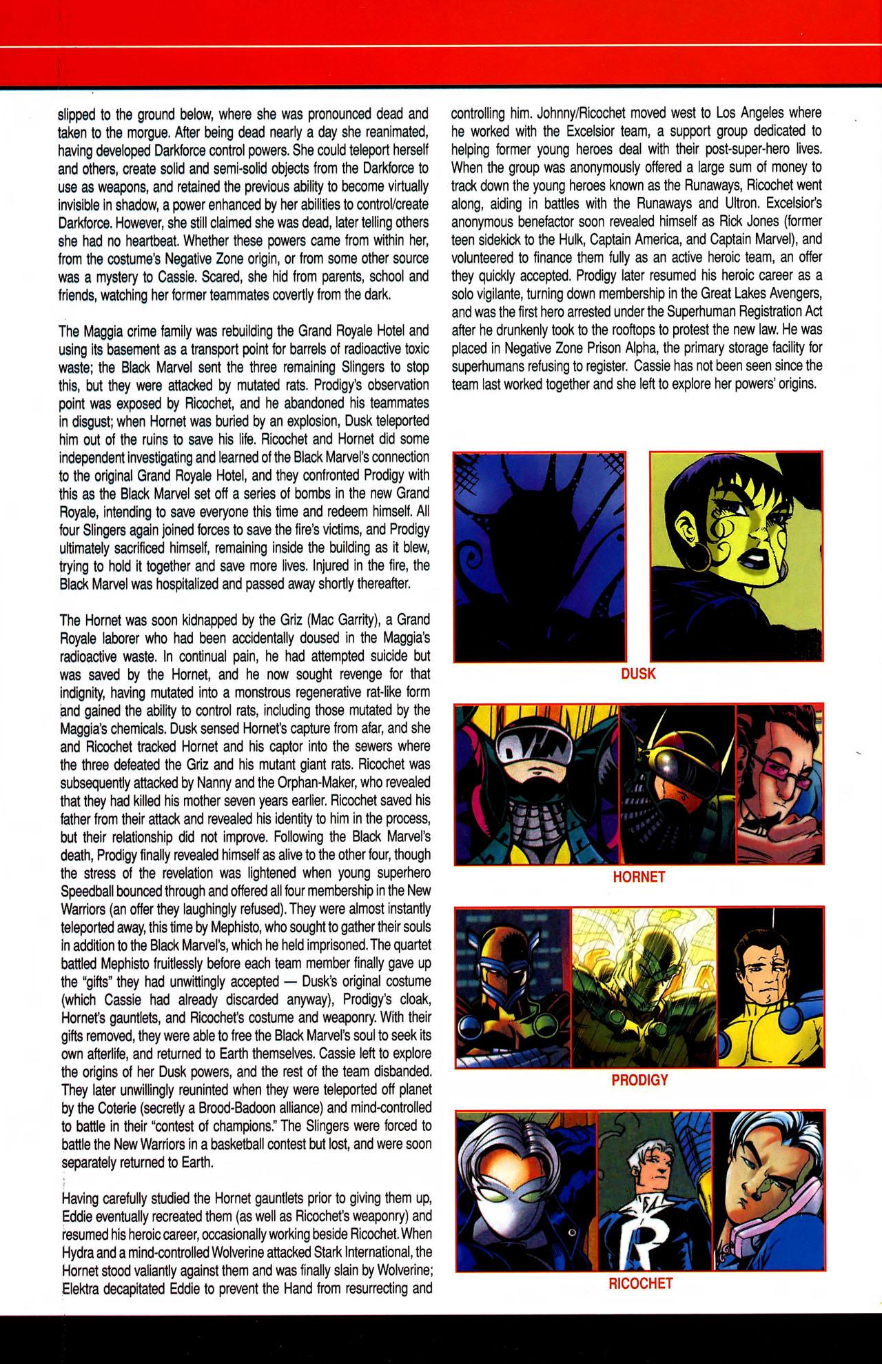 Read online All-New Official Handbook of the Marvel Universe A to Z comic -  Issue #10 - 26