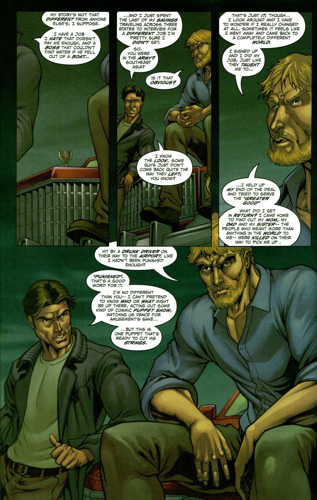 Read online Snake Eyes: Declassified comic -  Issue #2 - 9