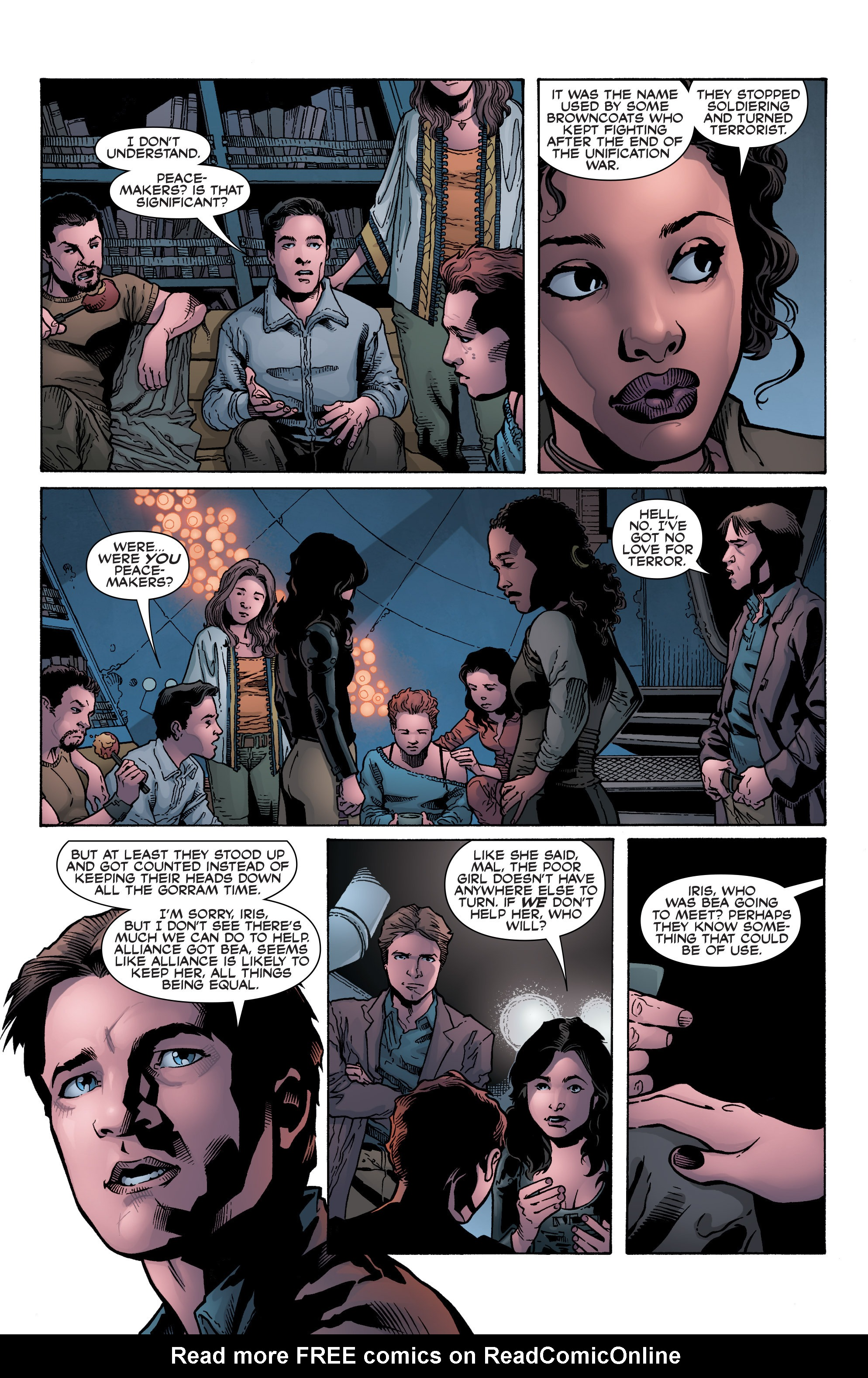 Read online Serenity: Firefly Class 03-K64 – No Power in the 'Verse comic -  Issue #1 - 29