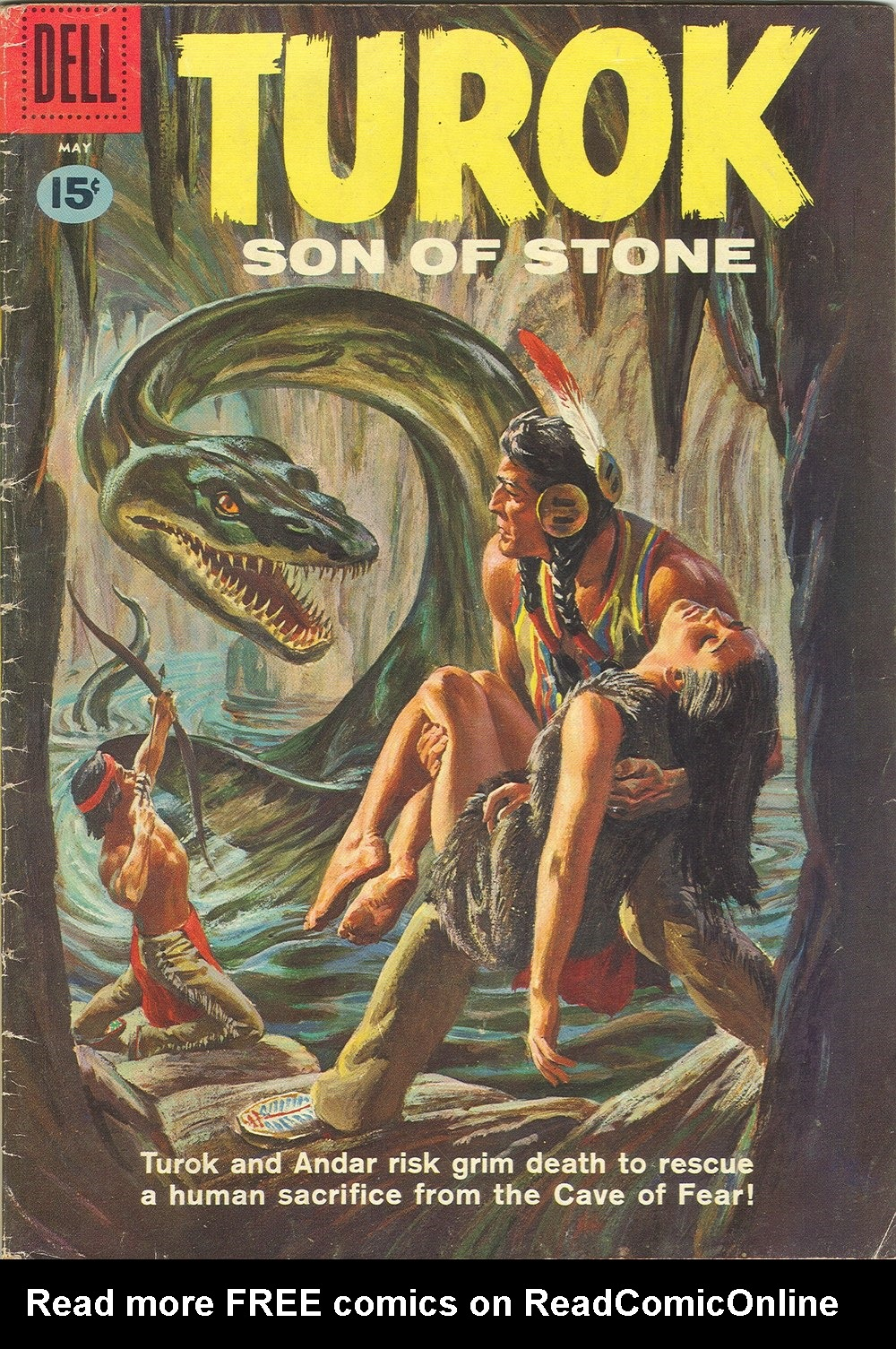 Read online Turok, Son of Stone comic -  Issue #23 - 1