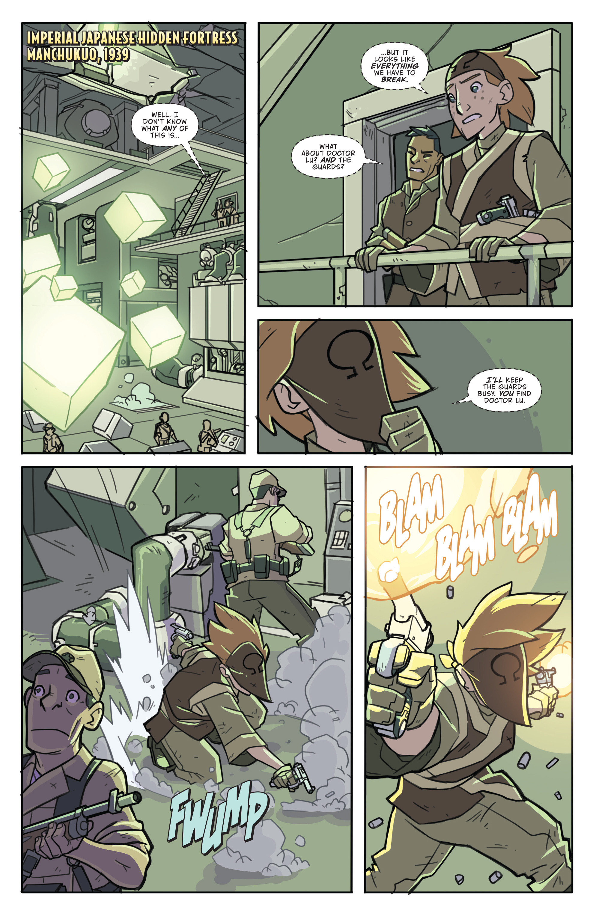 Read online Atomic Robo and the Temple of Od comic -  Issue #5 - 3