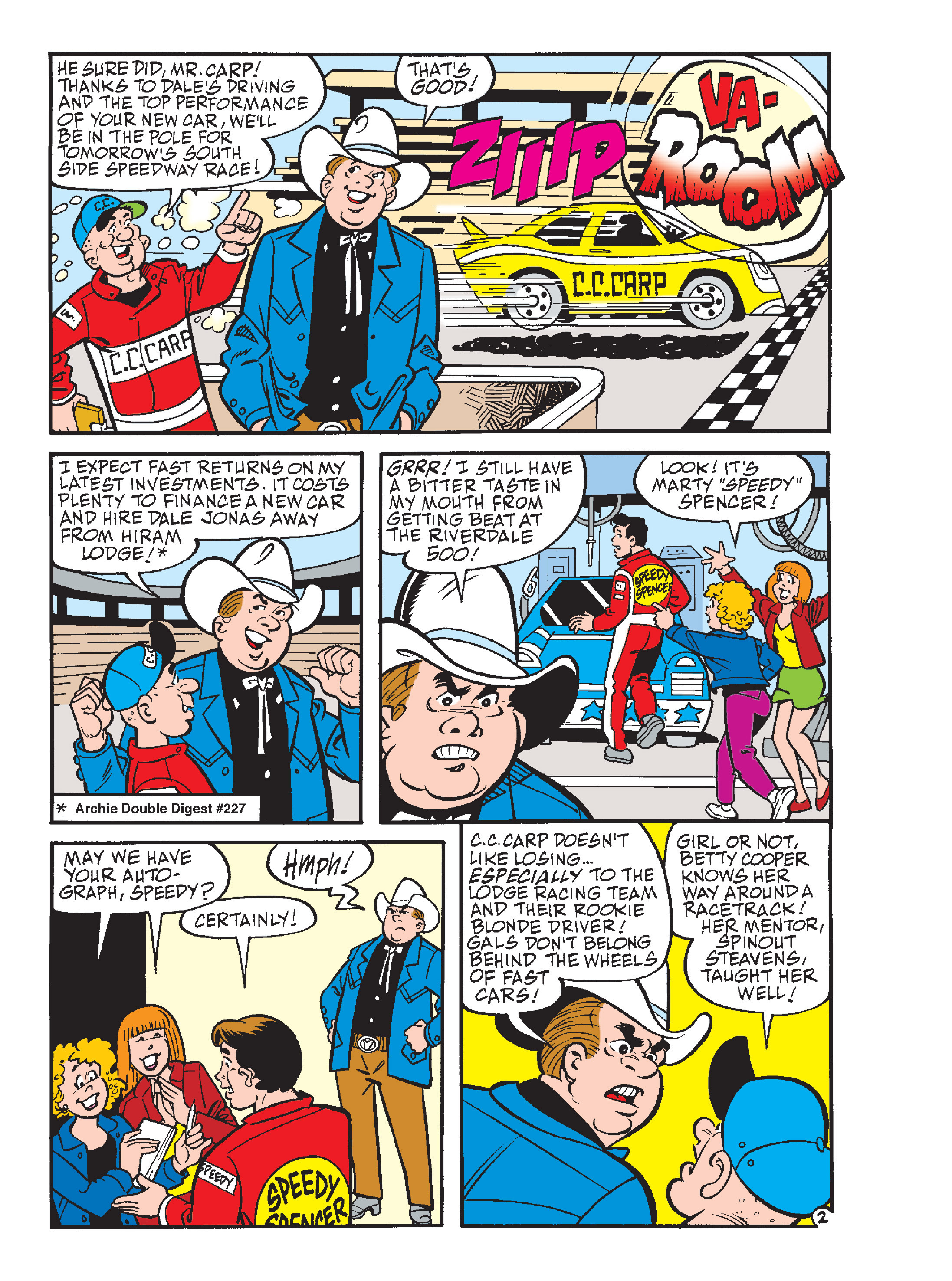 Read online Archie's Funhouse Double Digest comic -  Issue #17 - 94