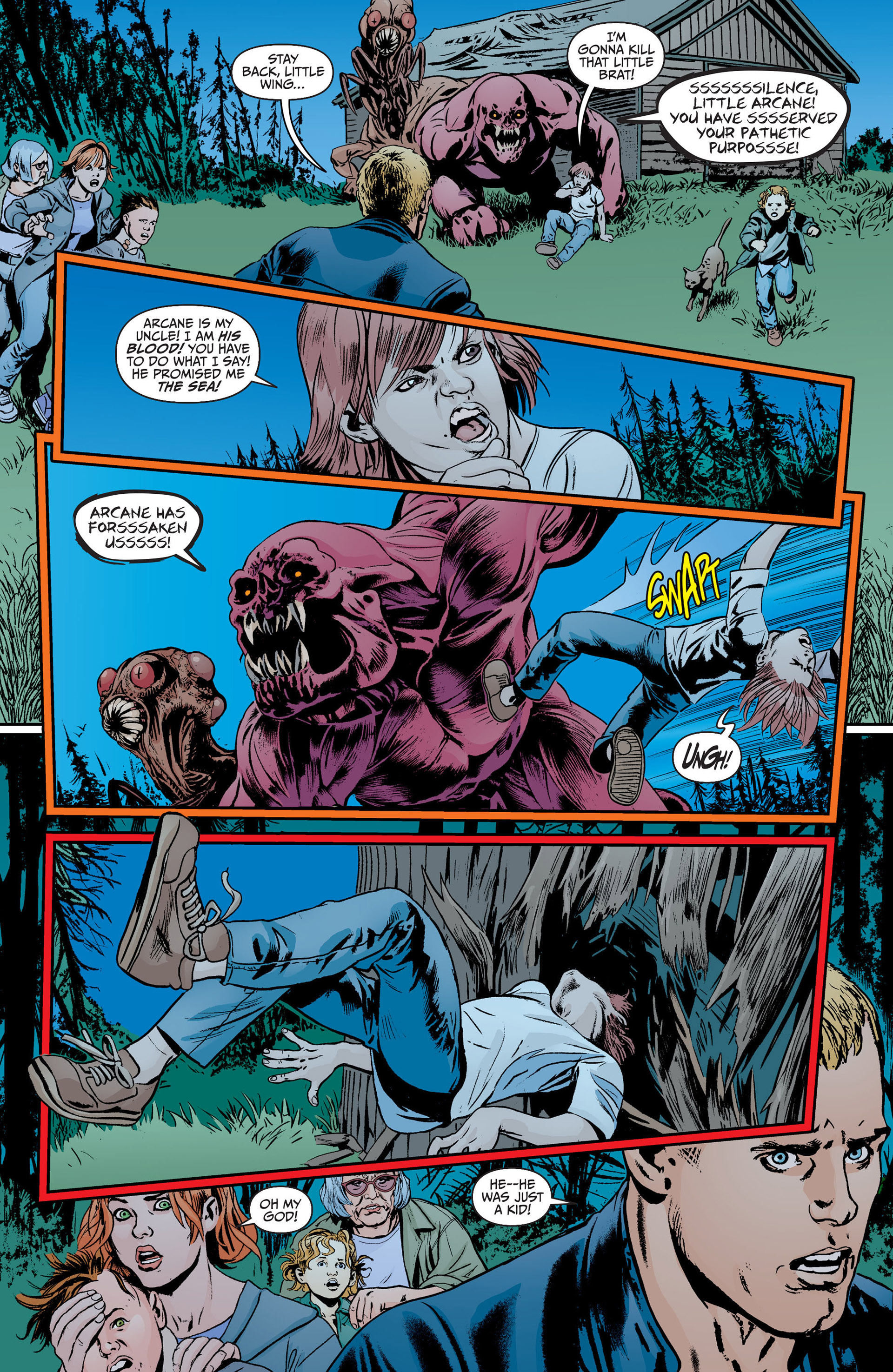 Read online Animal Man (2011) comic -  Issue #18 - 11