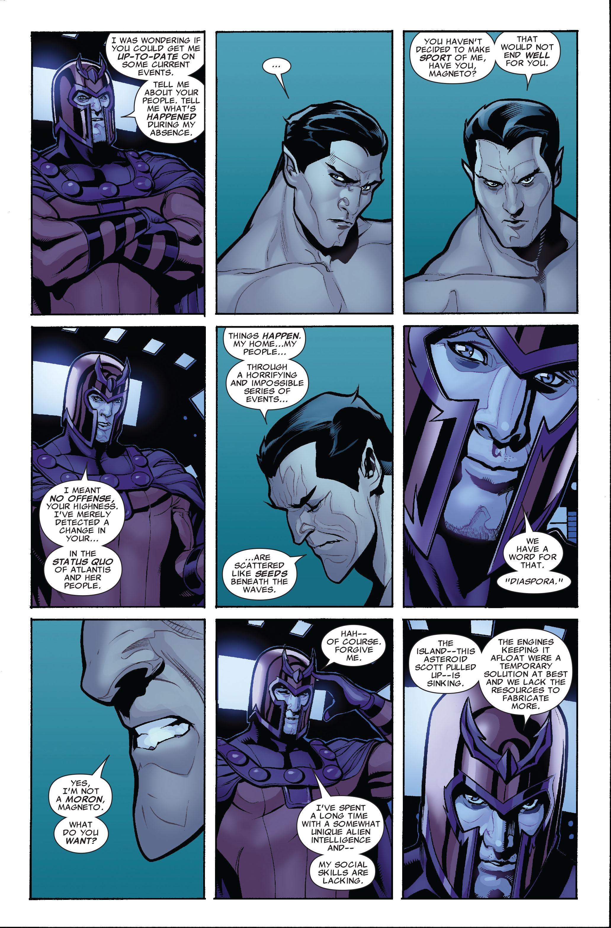 Read online Uncanny X-Men (1963) comic -  Issue #519 - 14
