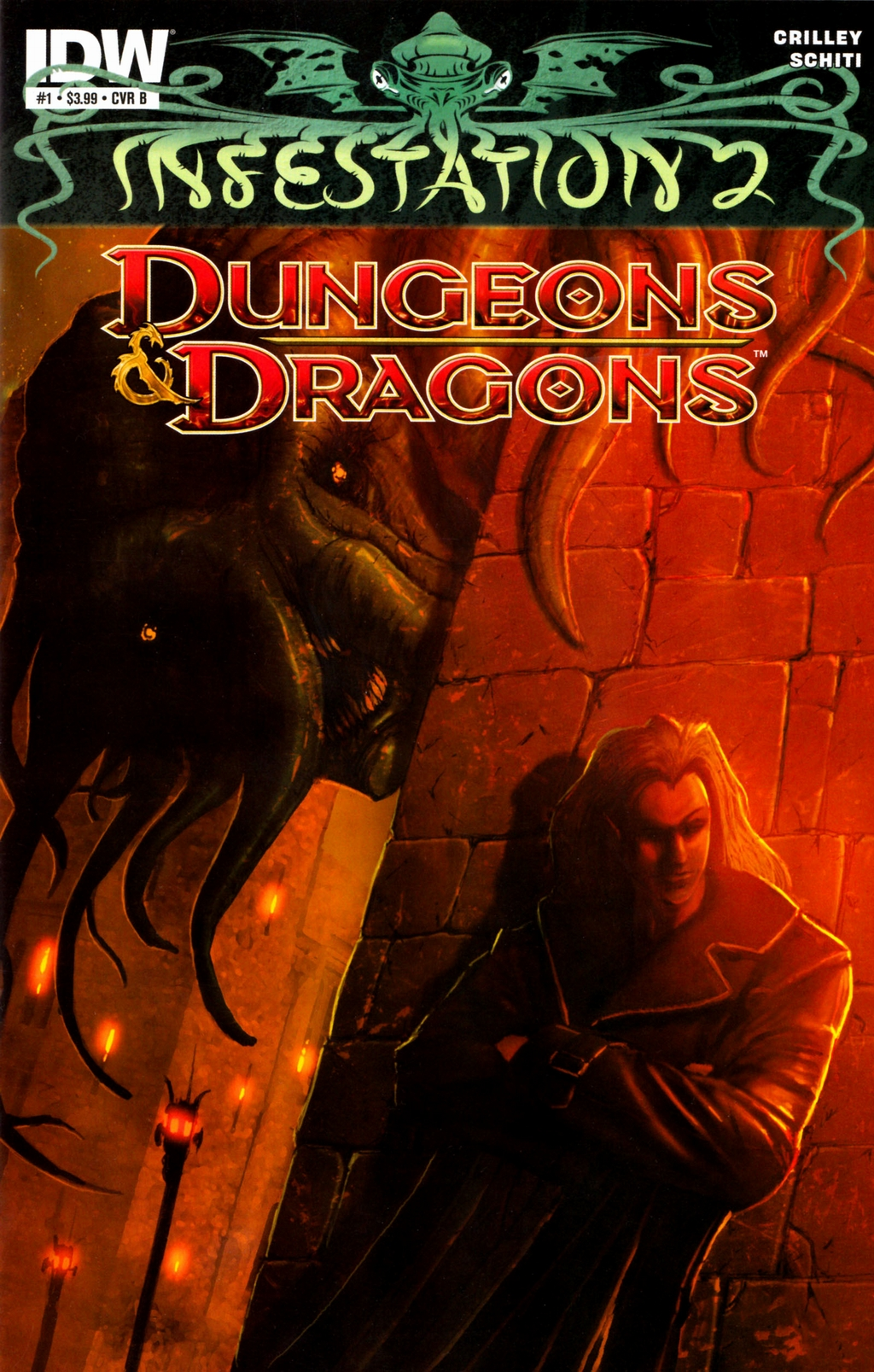 Read online Infestation 2: Dungeons & Dragons comic -  Issue #1 - 2