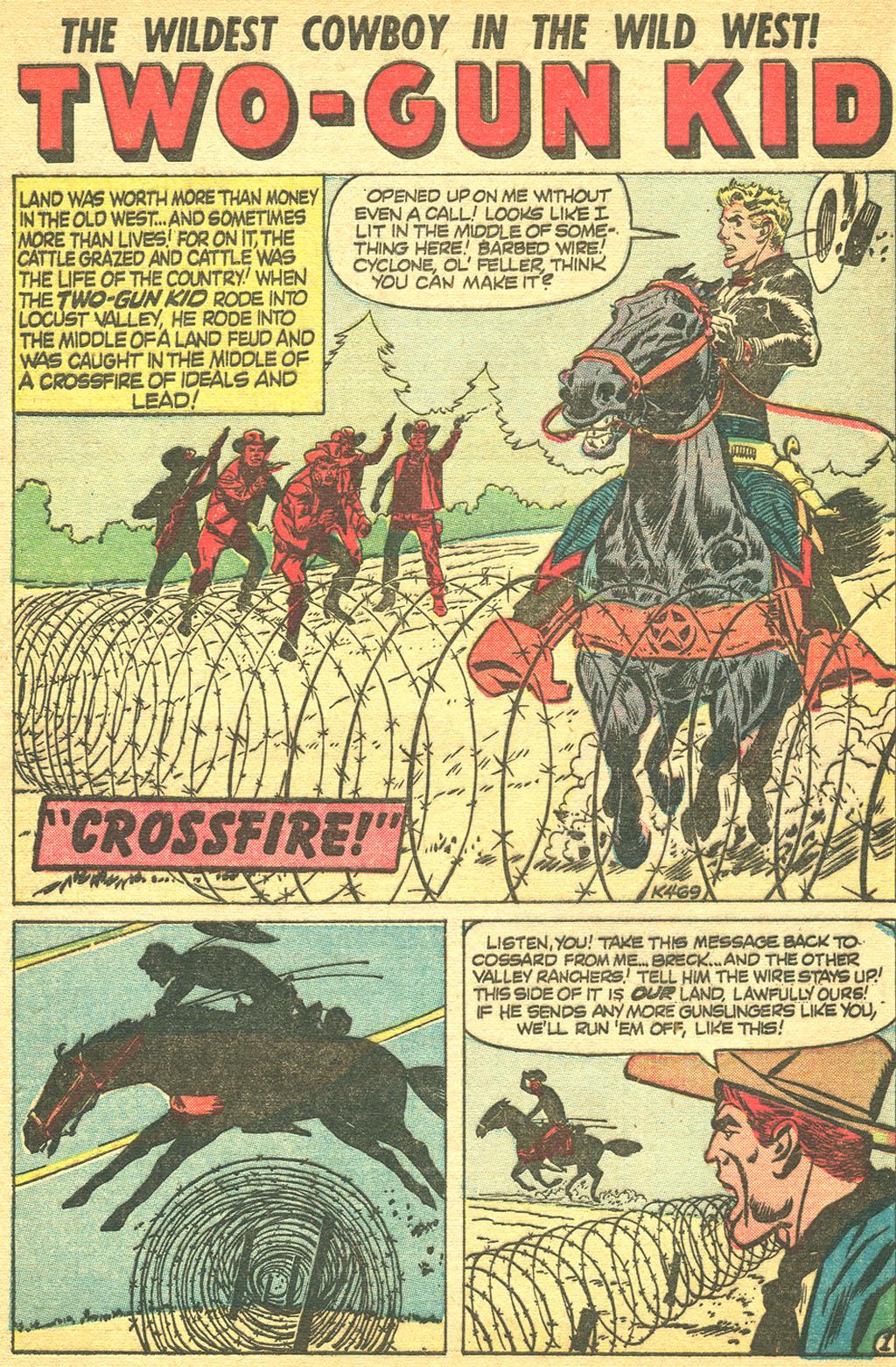 Read online Two-Gun Kid comic -  Issue #34 - 27