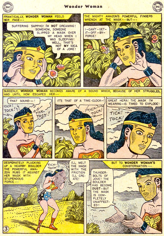 Read online Wonder Woman (1942) comic -  Issue #80 - 5
