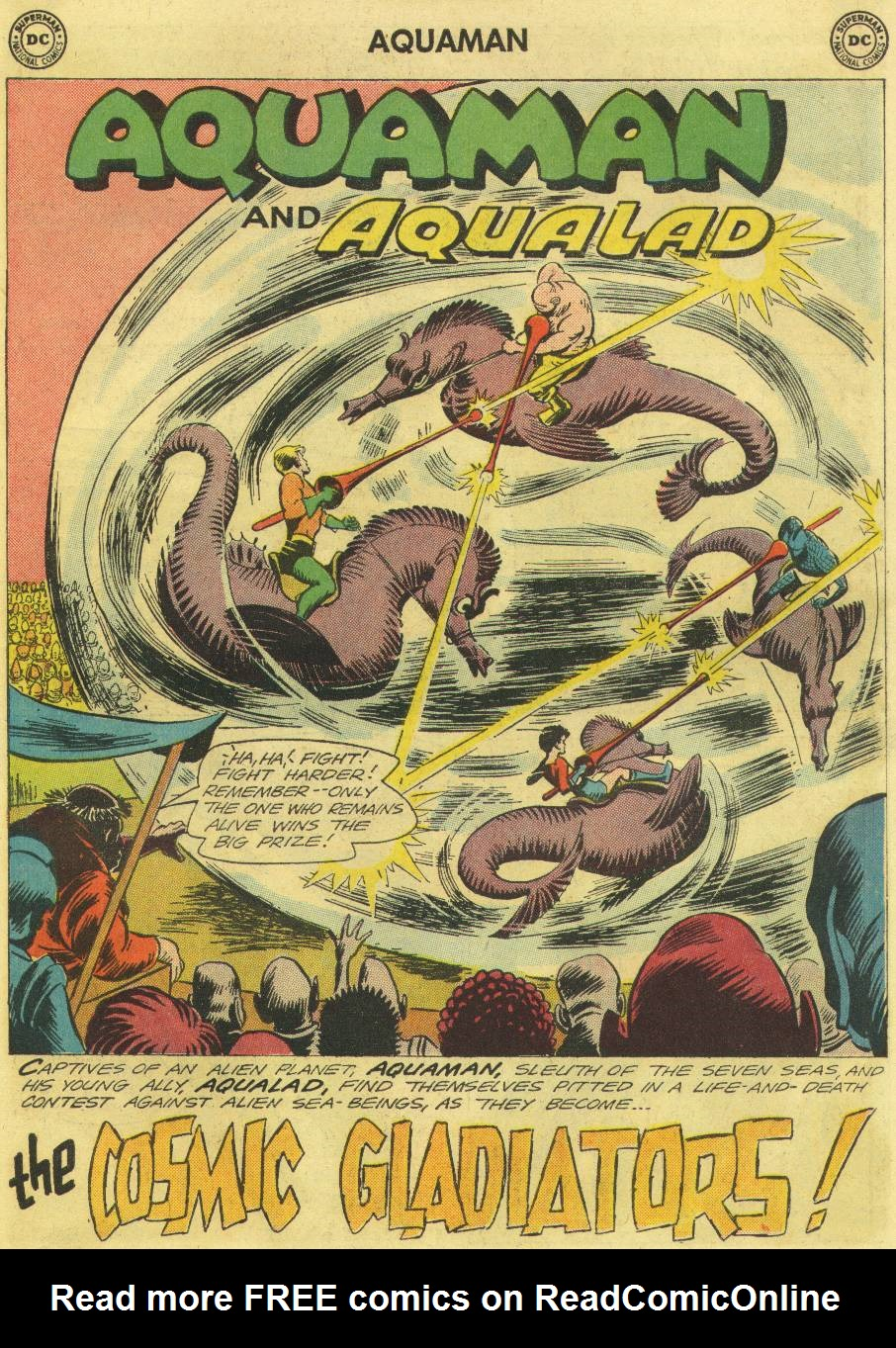 Read online Aquaman (1962) comic -  Issue #12 - 19