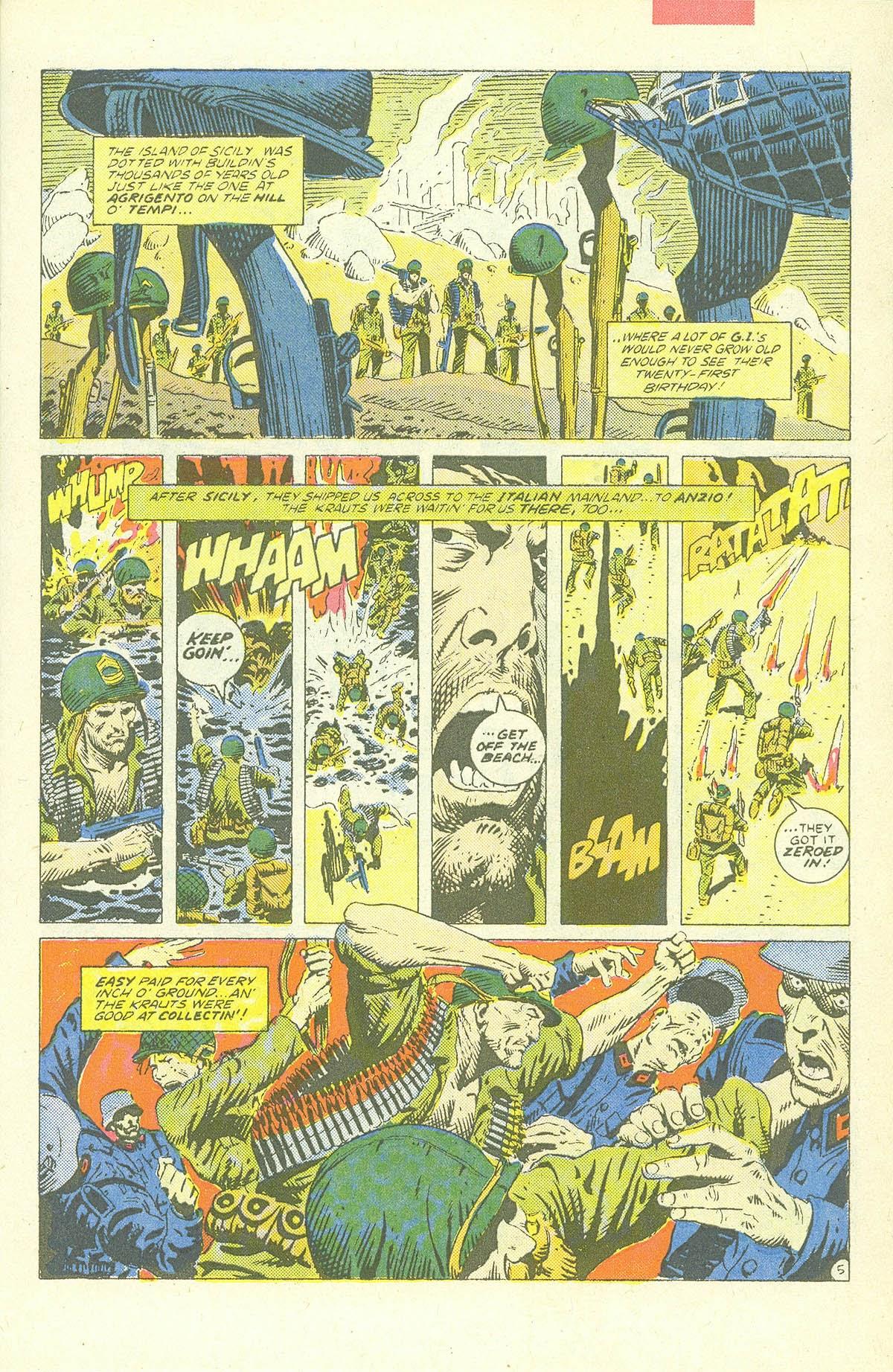 Read online Sgt. Rock comic -  Issue #409 - 8