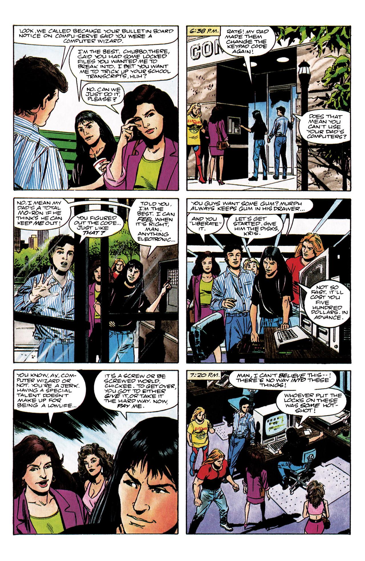 Read online Harbinger (1992) comic -  Issue #3 - 6