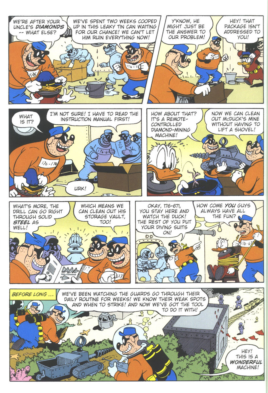Read online Uncle Scrooge (1953) comic -  Issue #309 - 42