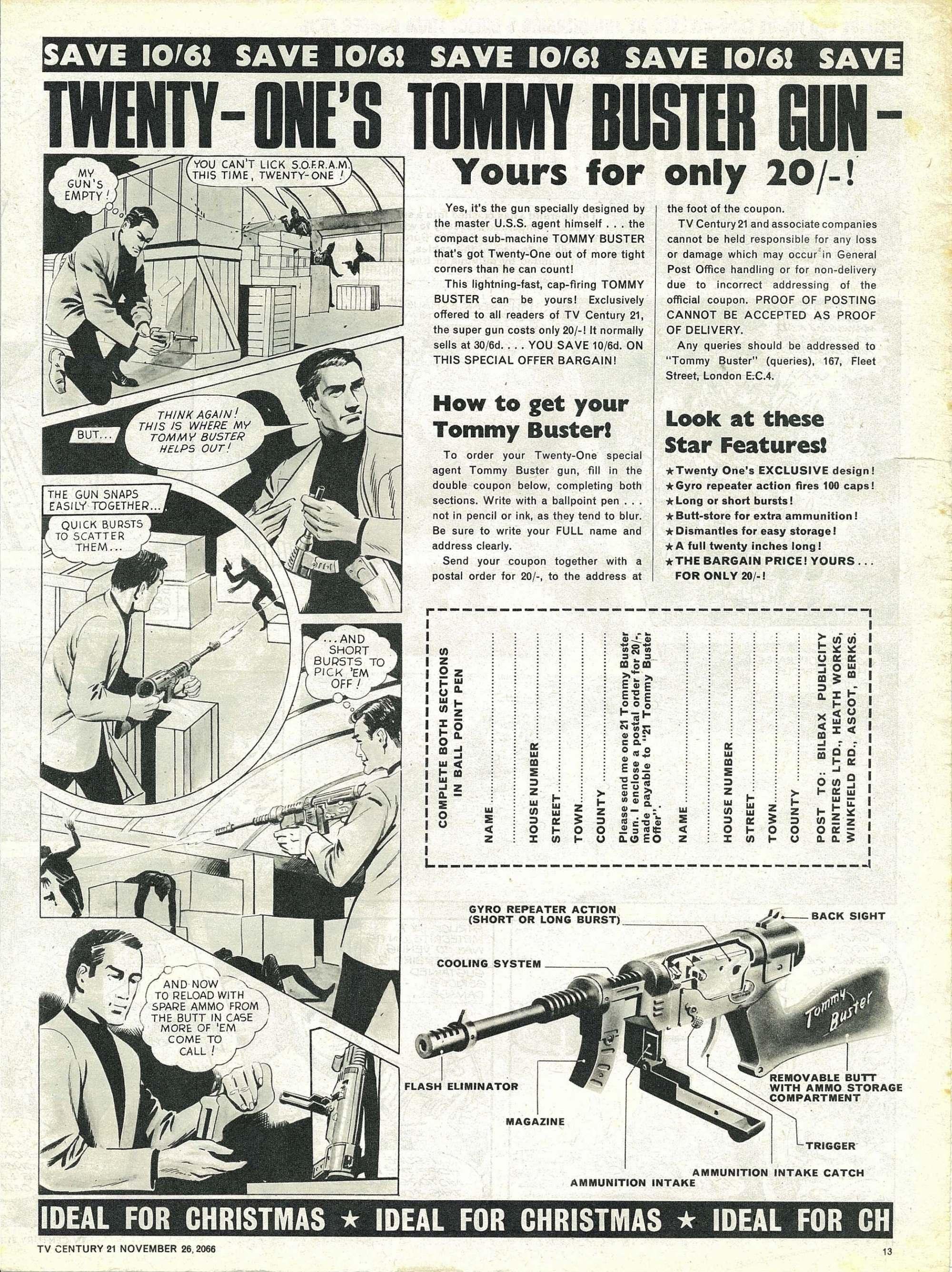 Read online TV Century 21 (TV 21) comic -  Issue #97 - 13
