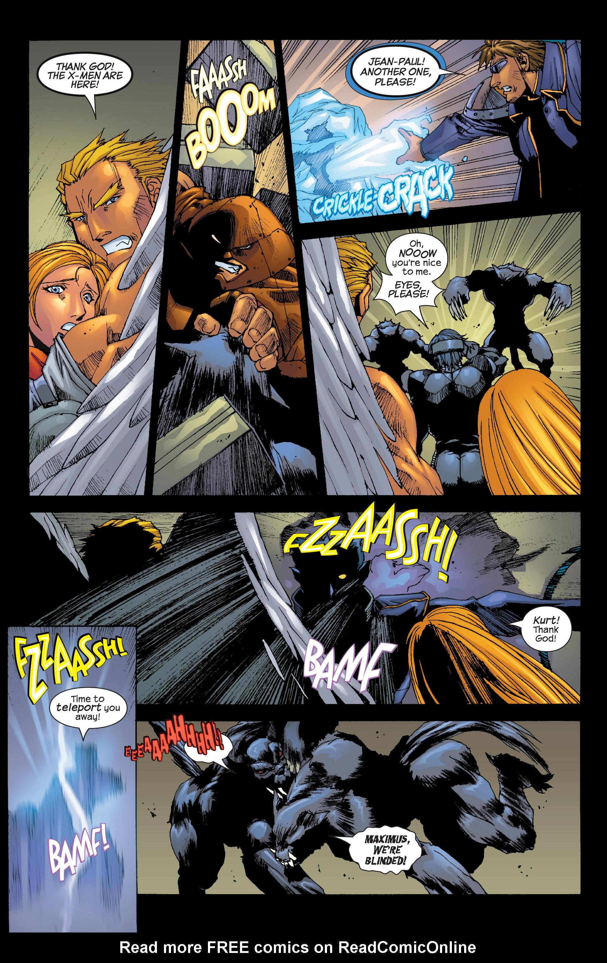 Read online Uncanny X-Men (1963) comic -  Issue #420 - 18