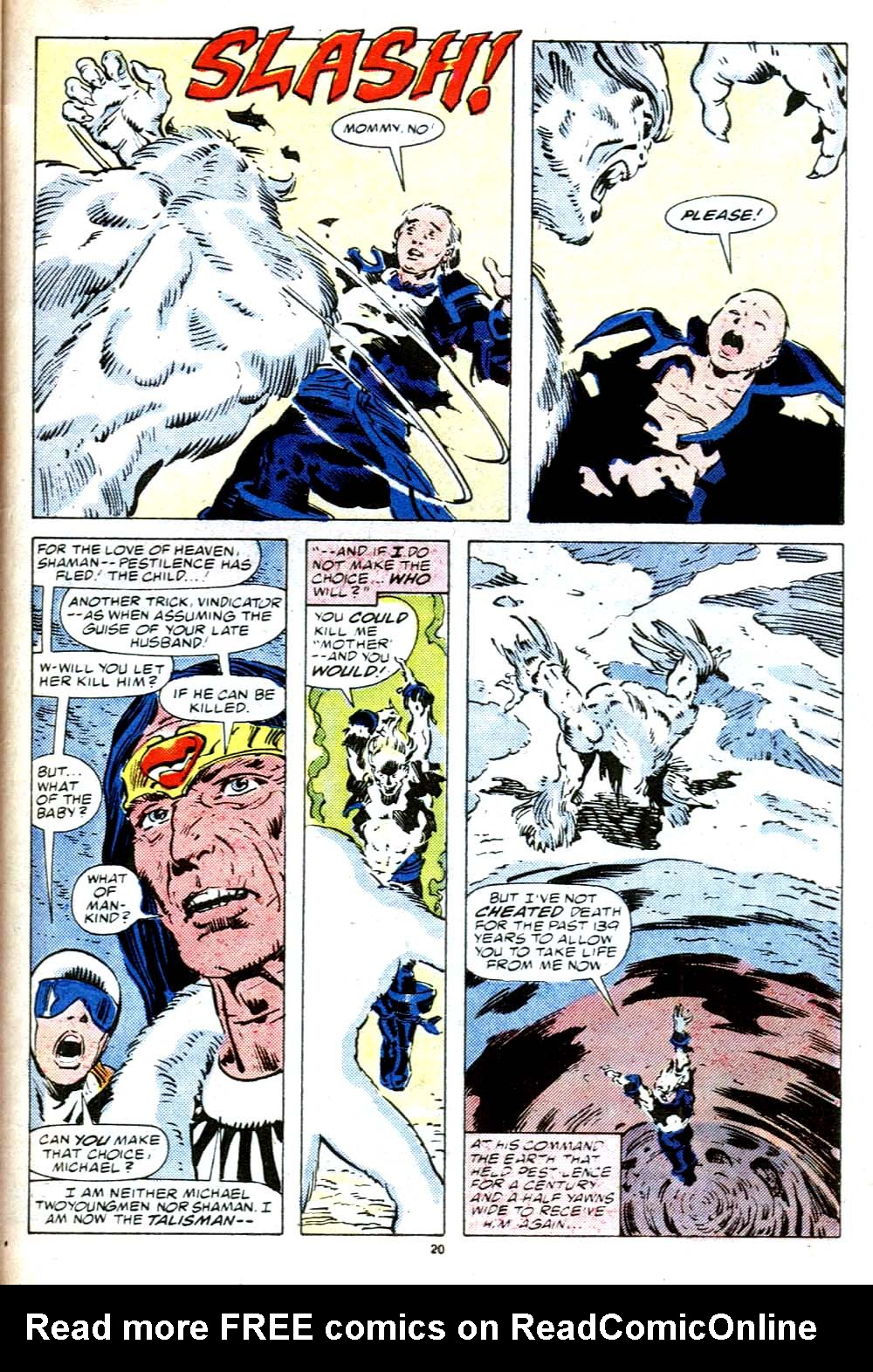 Read online Alpha Flight (1983) comic -  Issue #38 - 21
